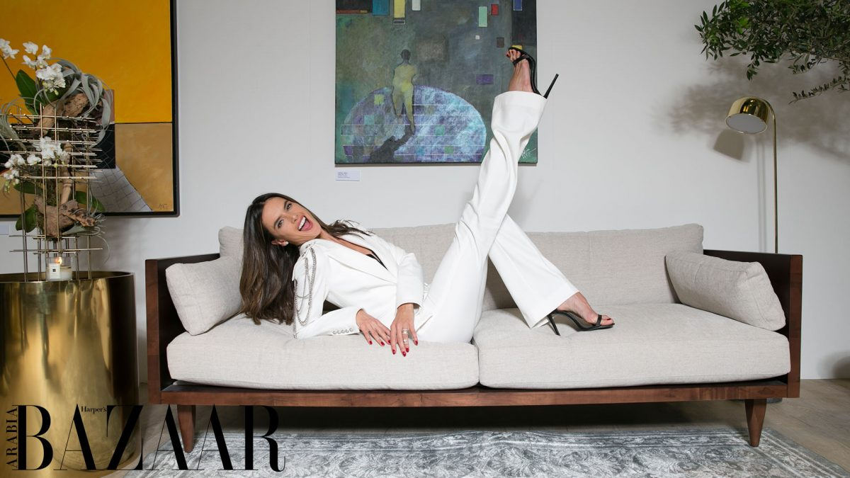 Alessandra Ambrosio Makes A Case For The All-White Suit At ...
