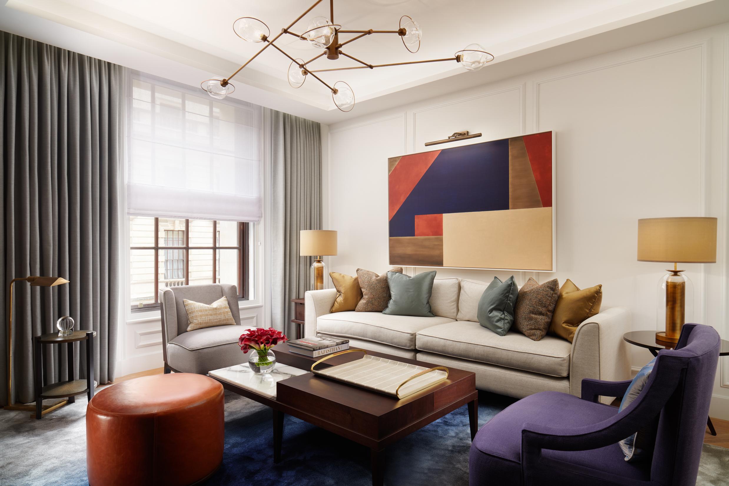 London Suite Living Area, Corinthia London