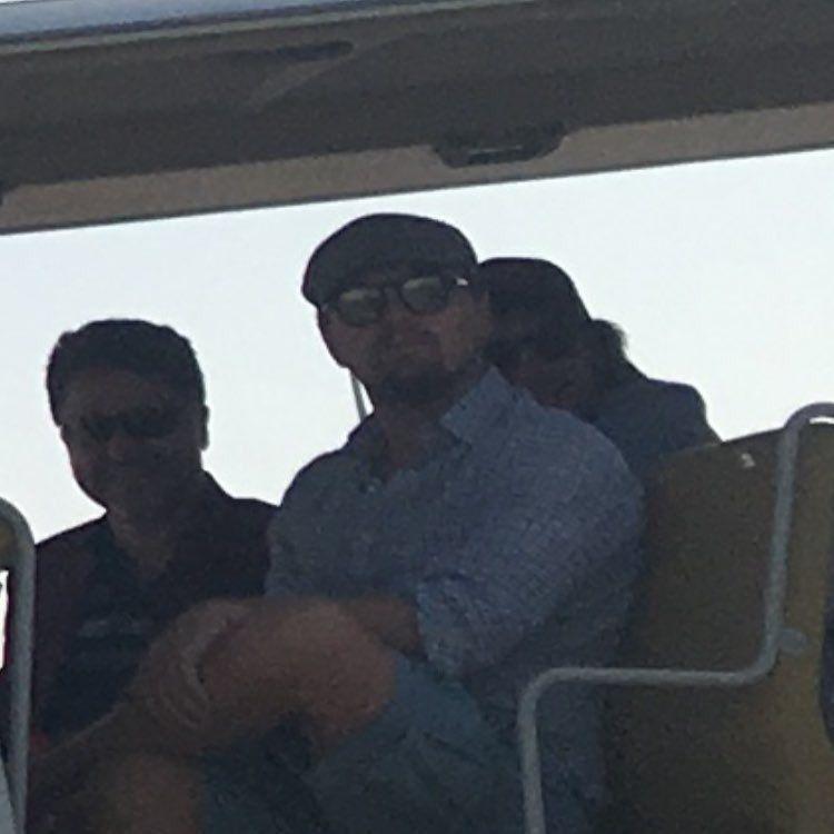 Leonardo DiCaprio In Dubai