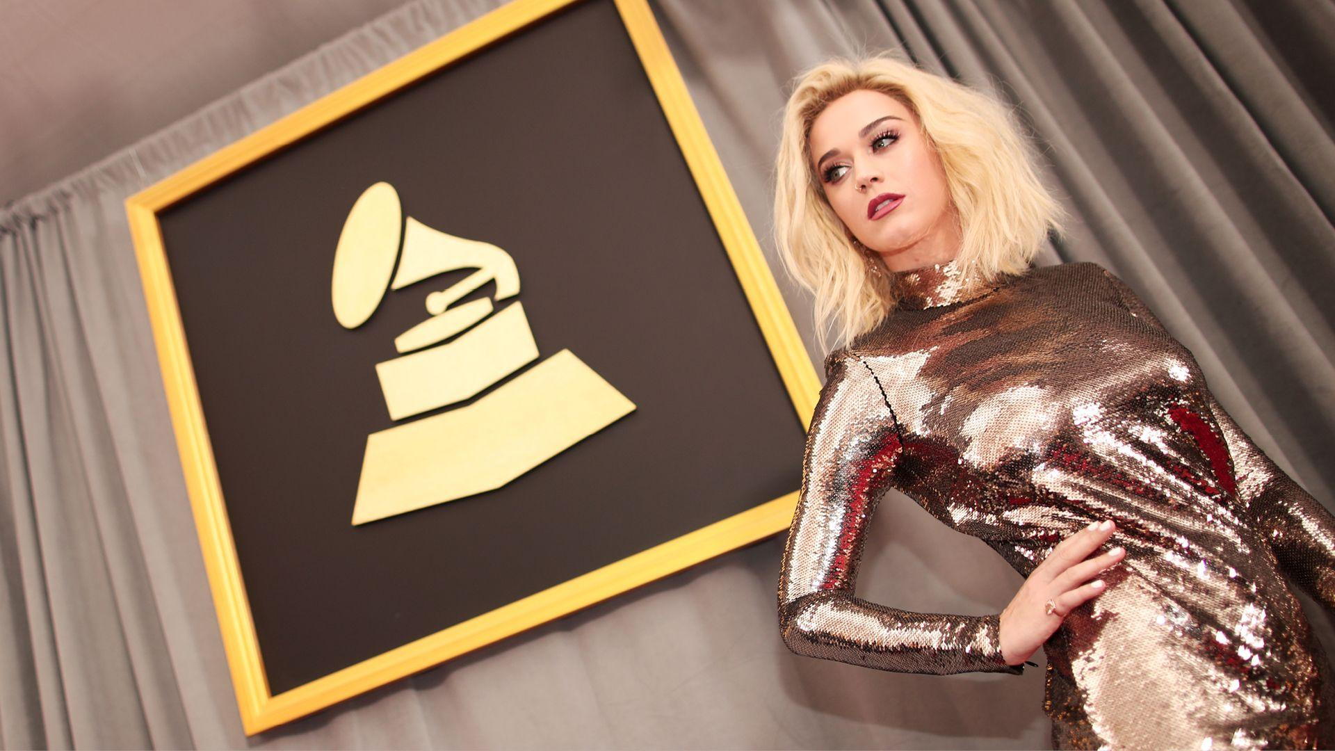 Katy Perry At The Grammy's