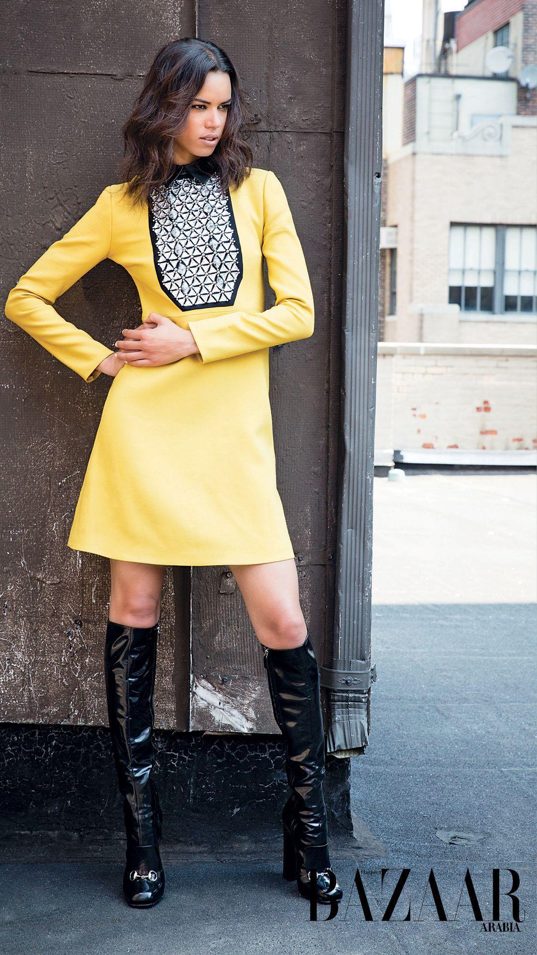 Hind Sahli for Harper's Bazaar