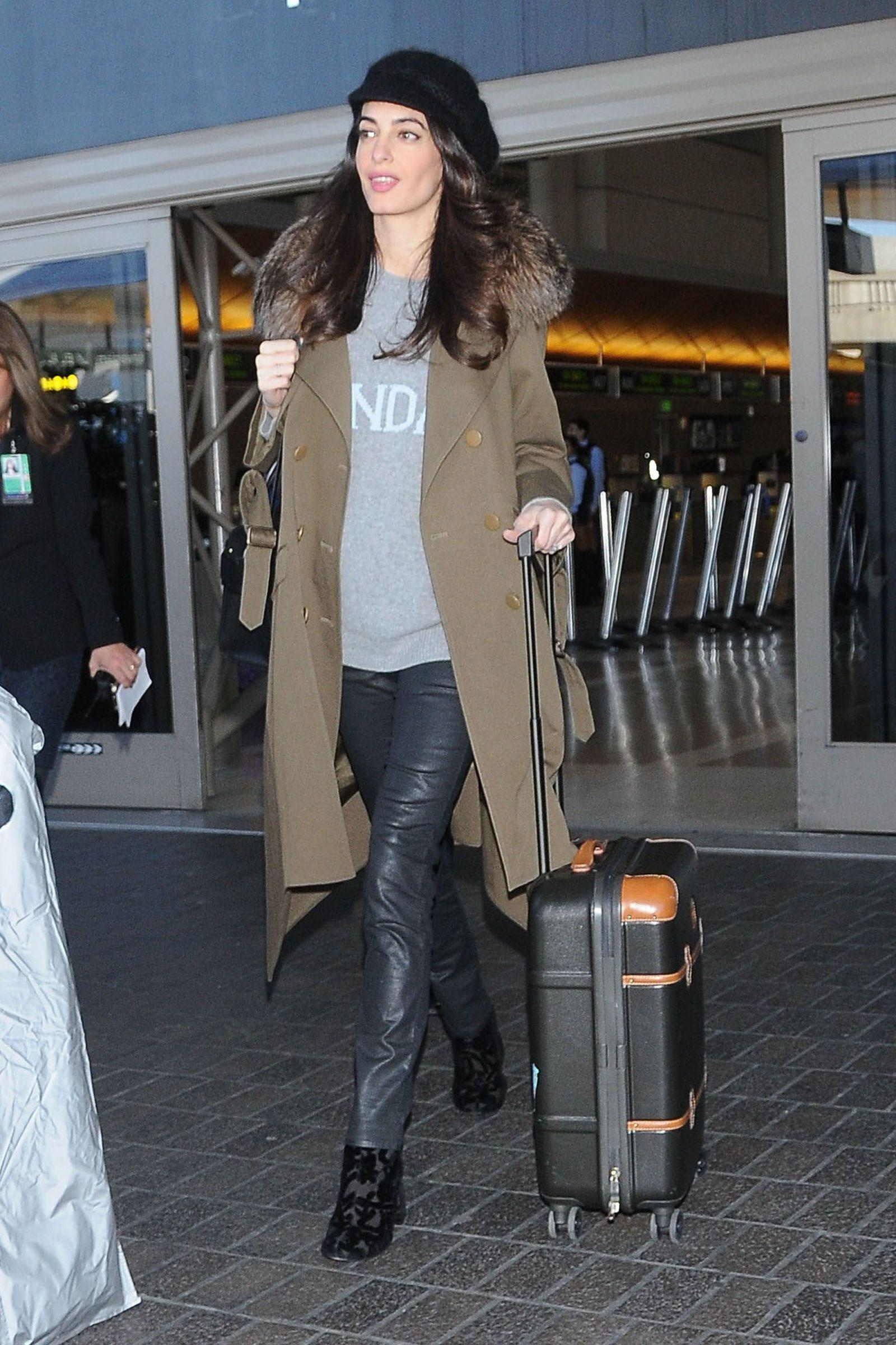 Amal Clooney is expecting twins