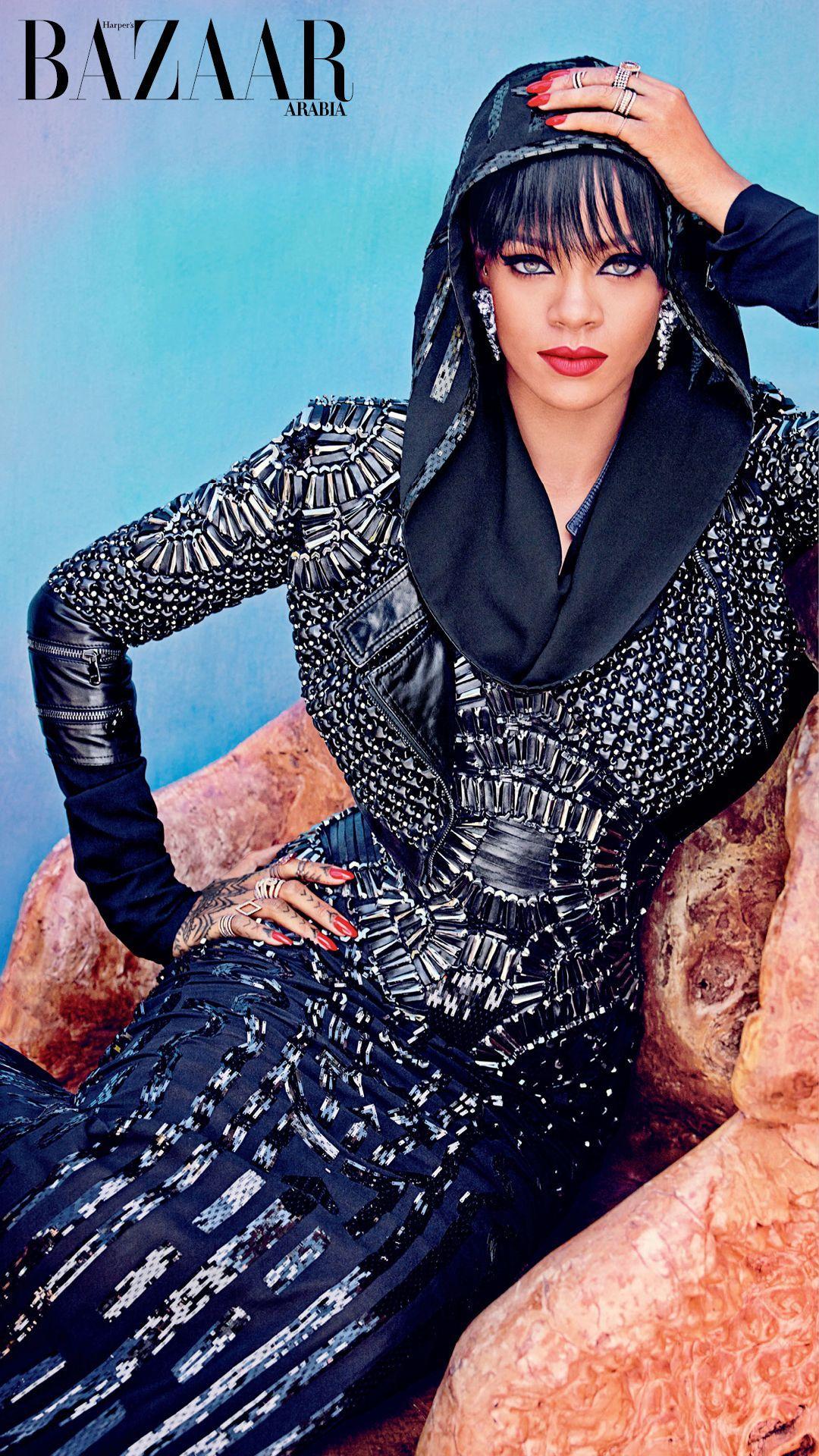 Rihanna For Harper's Bazaar Arabia