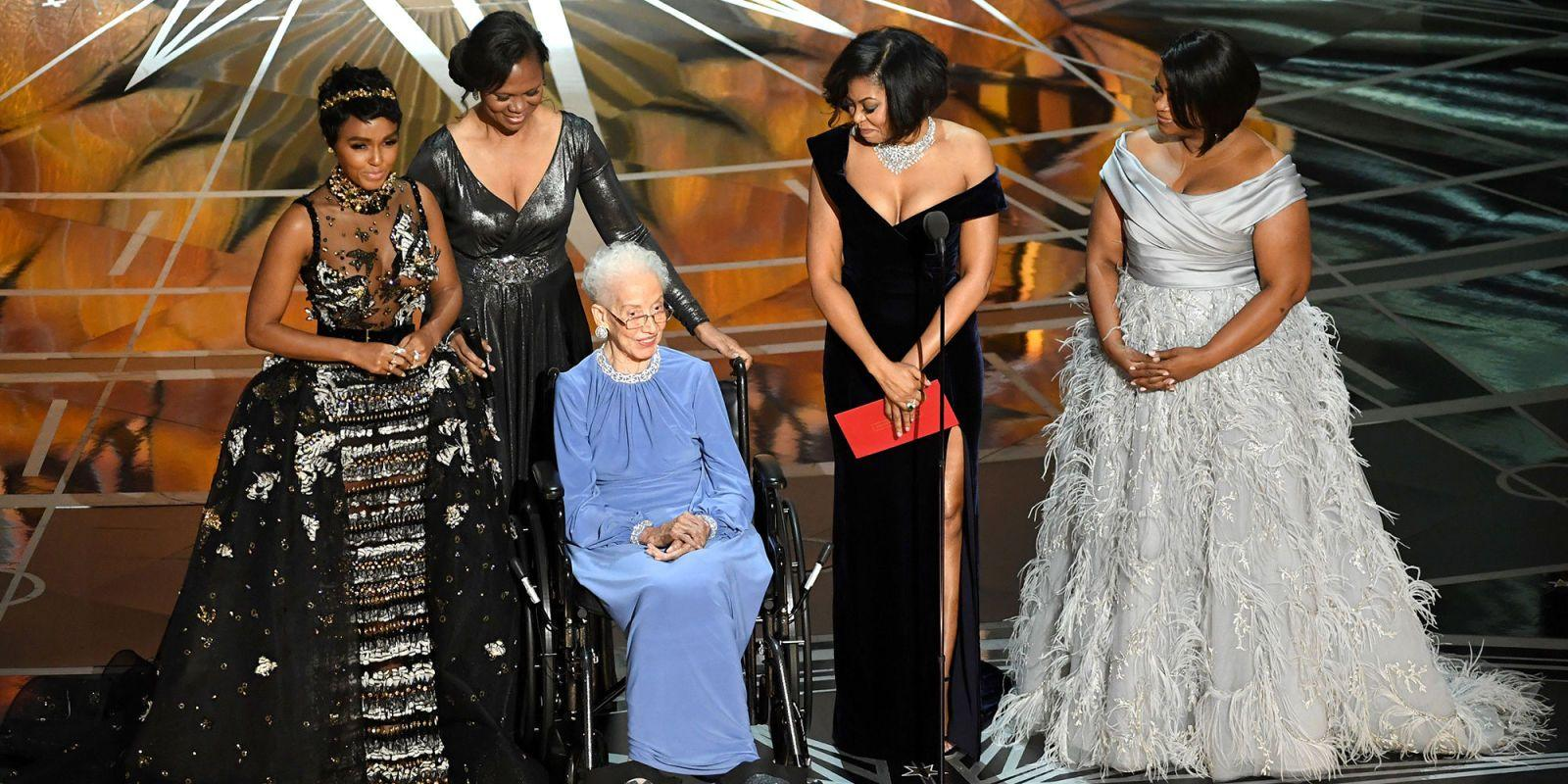 Katherine Johnson steals the show