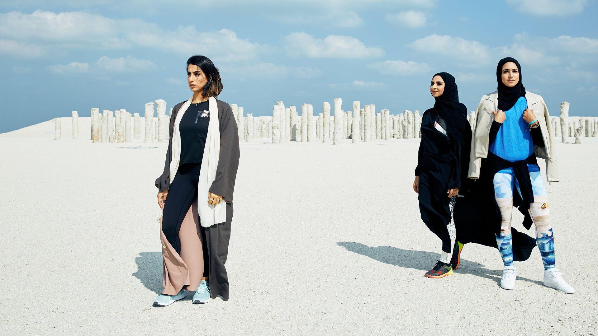 Reebok Perfectnever Revolution And Arab Woman Modest Dressing