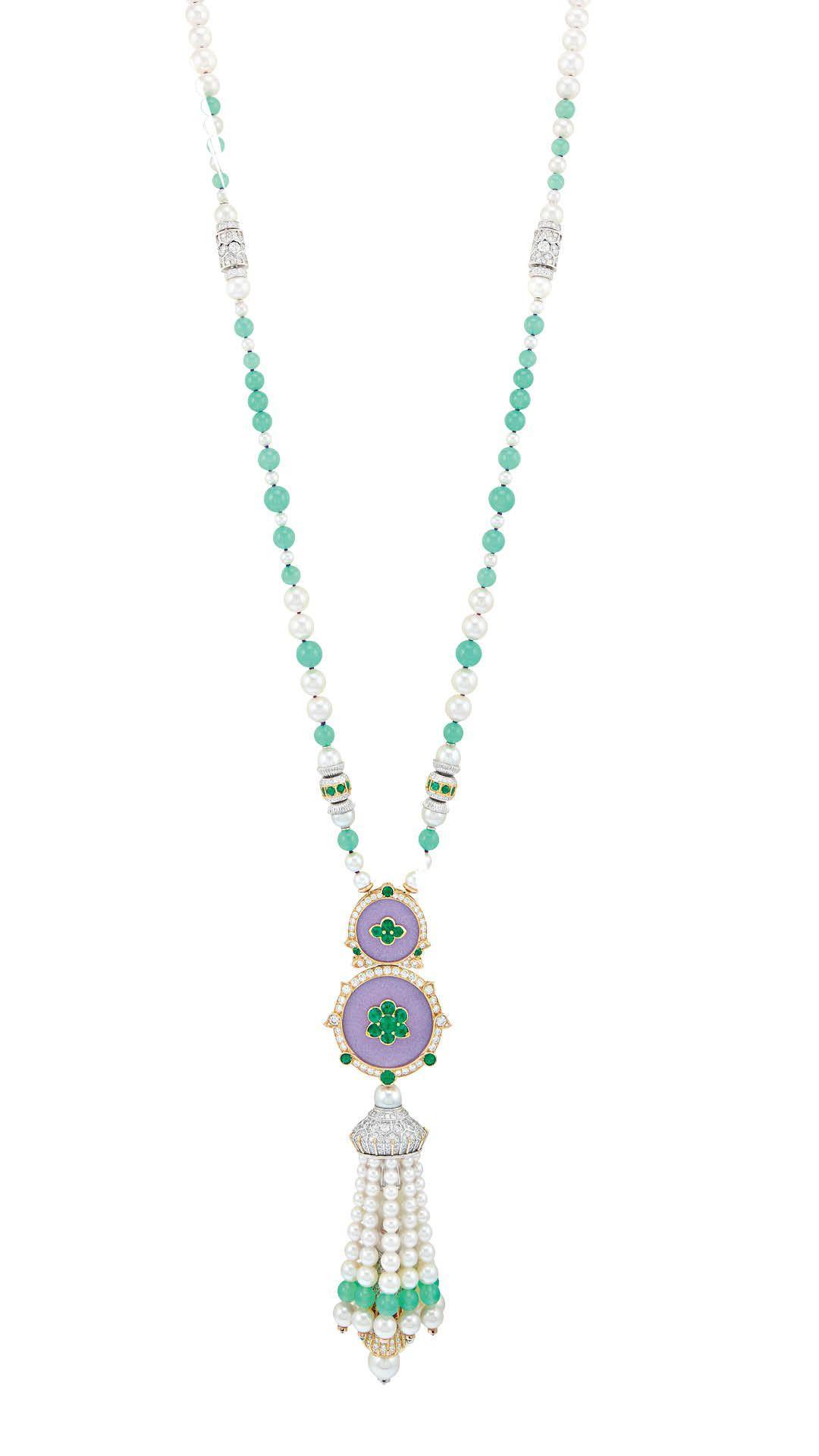 Van Cleef & Arpels Jeanne Antoinette long necklace