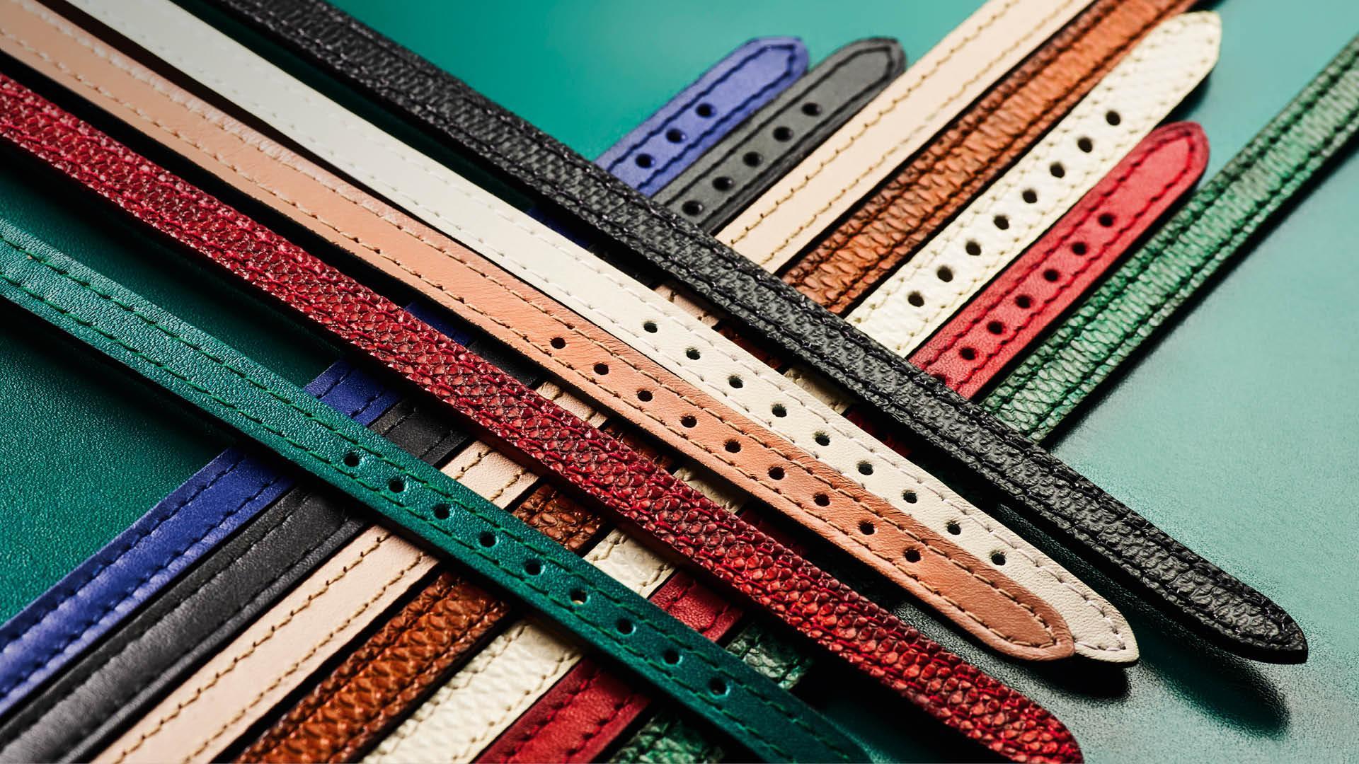 Interchangeable Coloured Straps Of The New Bulgari Serpenti