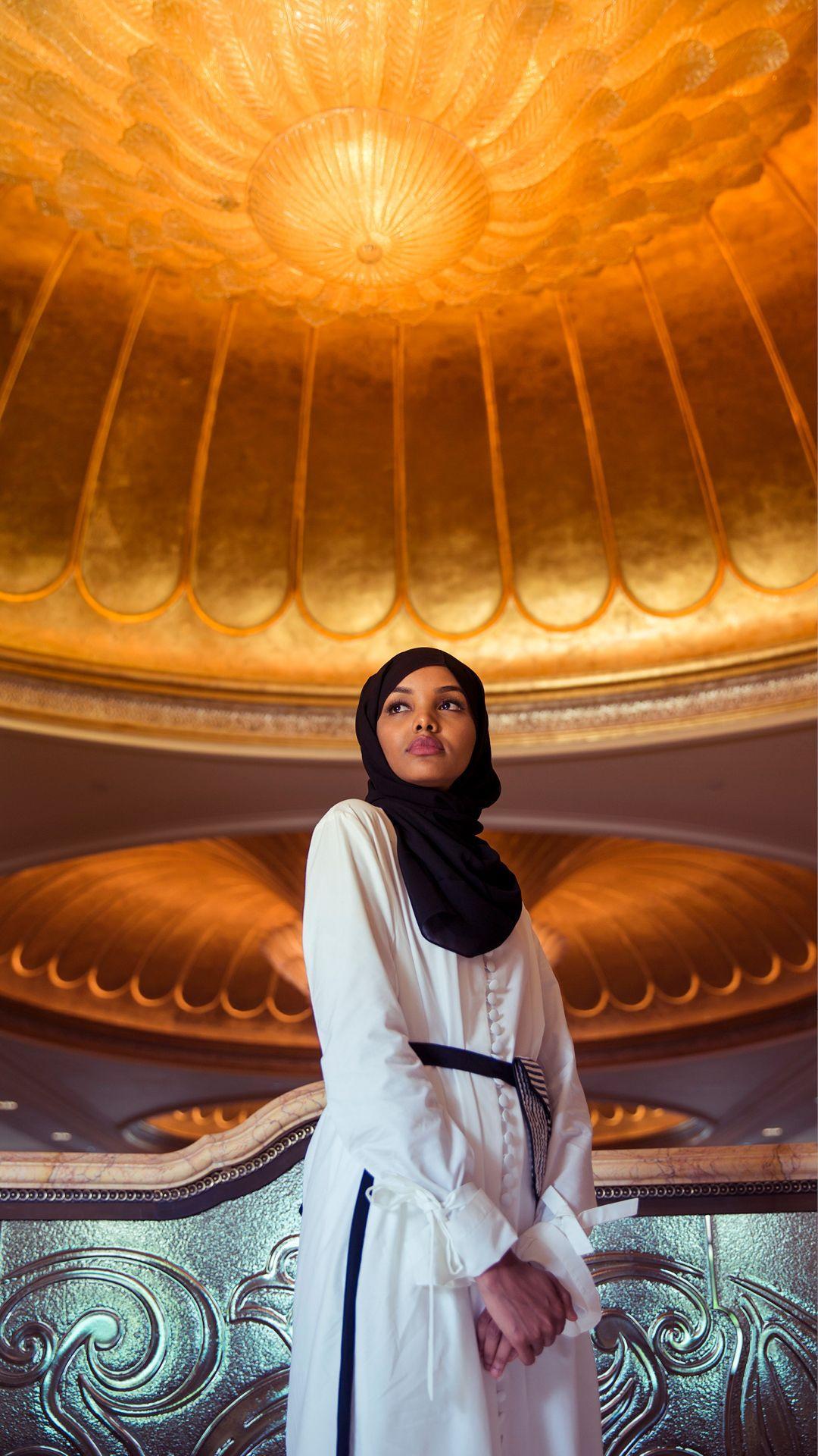 Halima Aden In Abu Dhabi