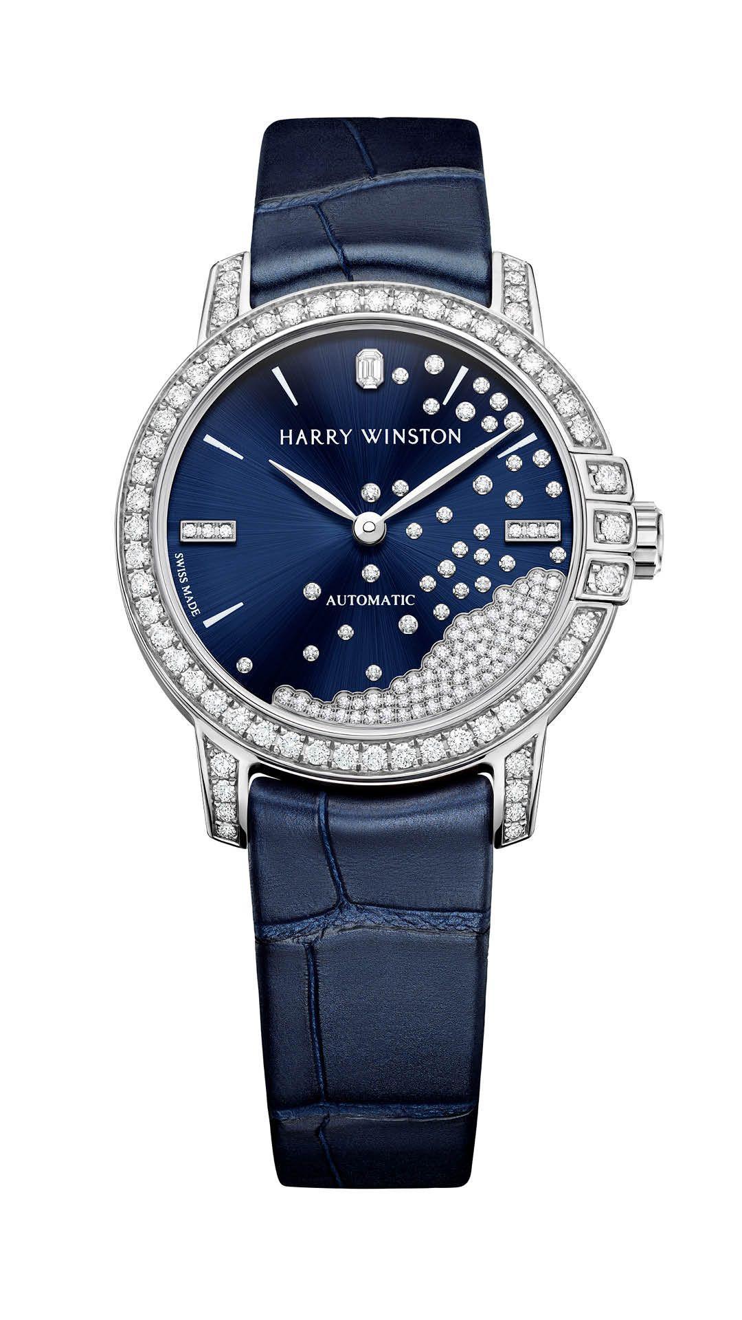 Harry Winston Midnight Diamond Drops Automatic