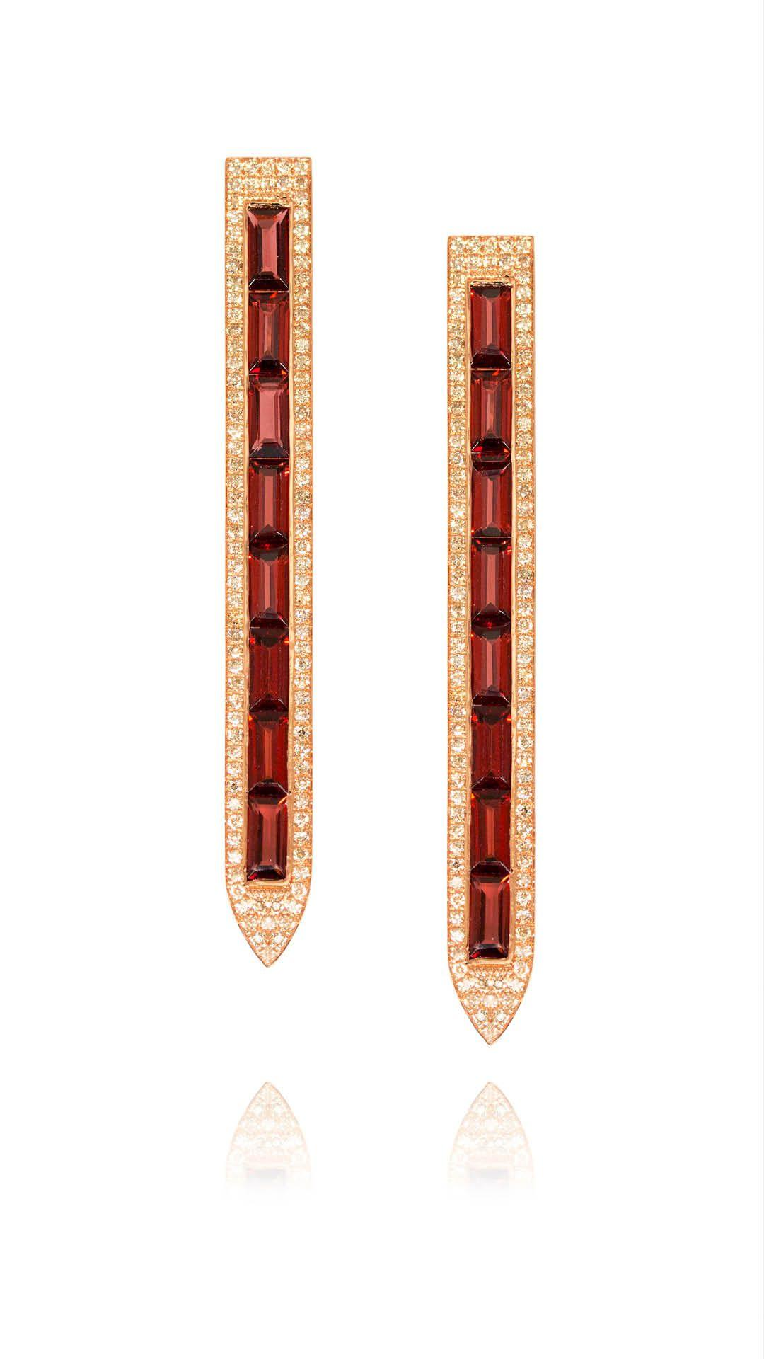Ralph Masri Sacred Windows Earrings