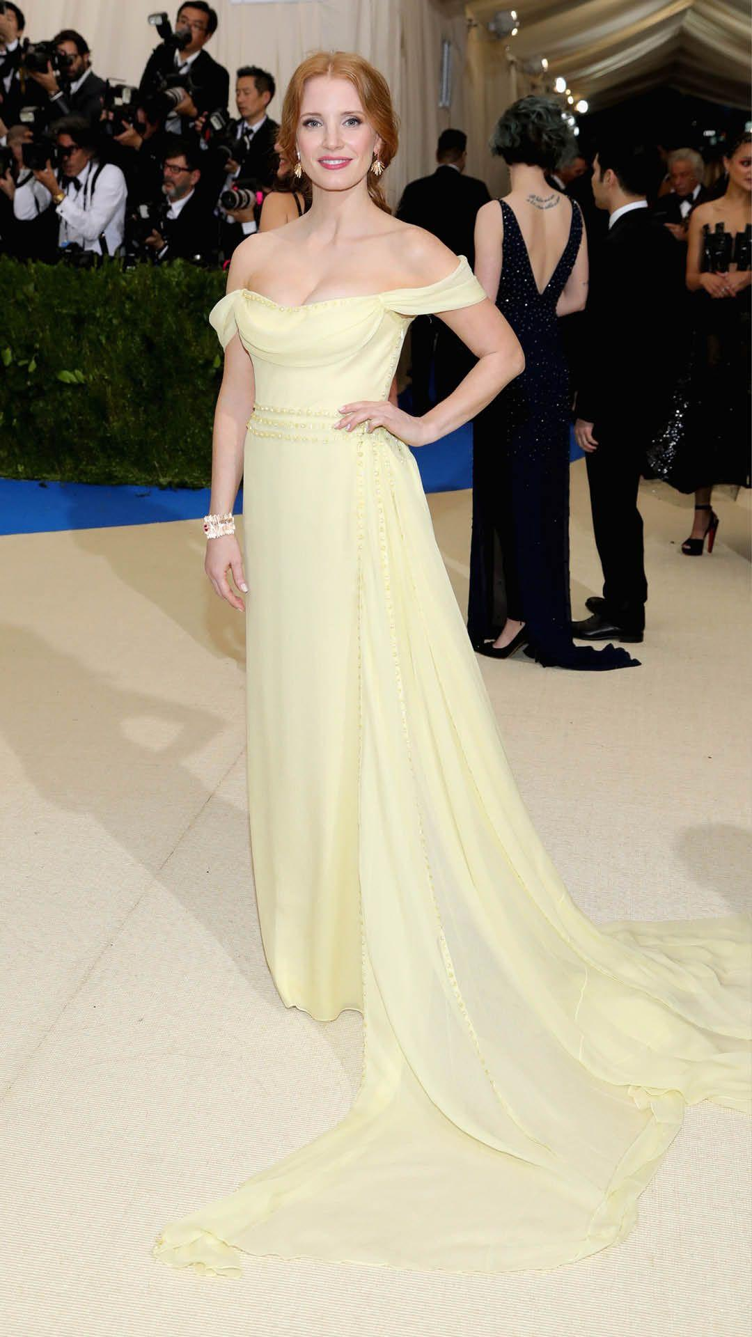 Jessica Chastain Wears Piaget