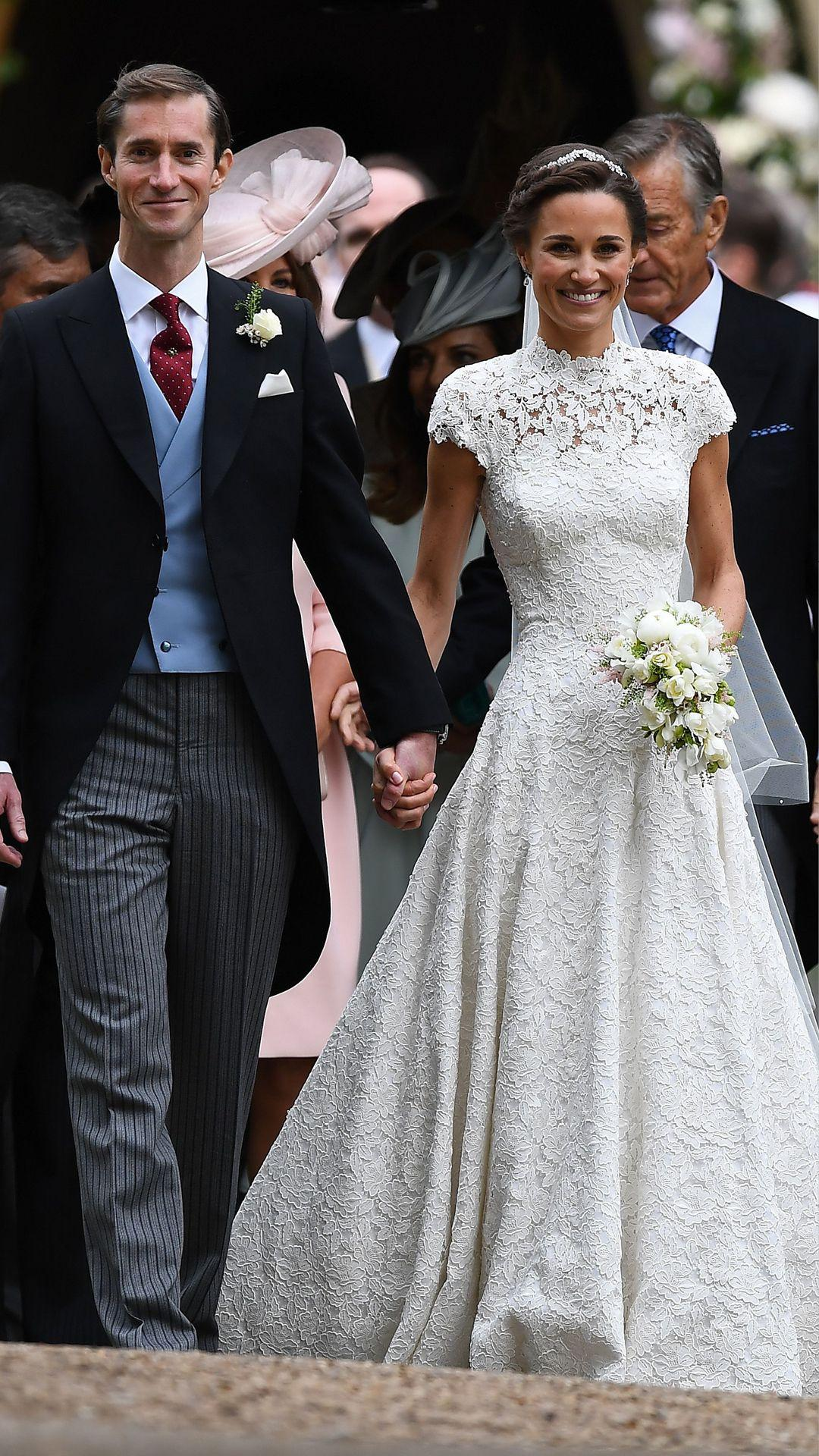 Pippa Middleton in Giles Deacon