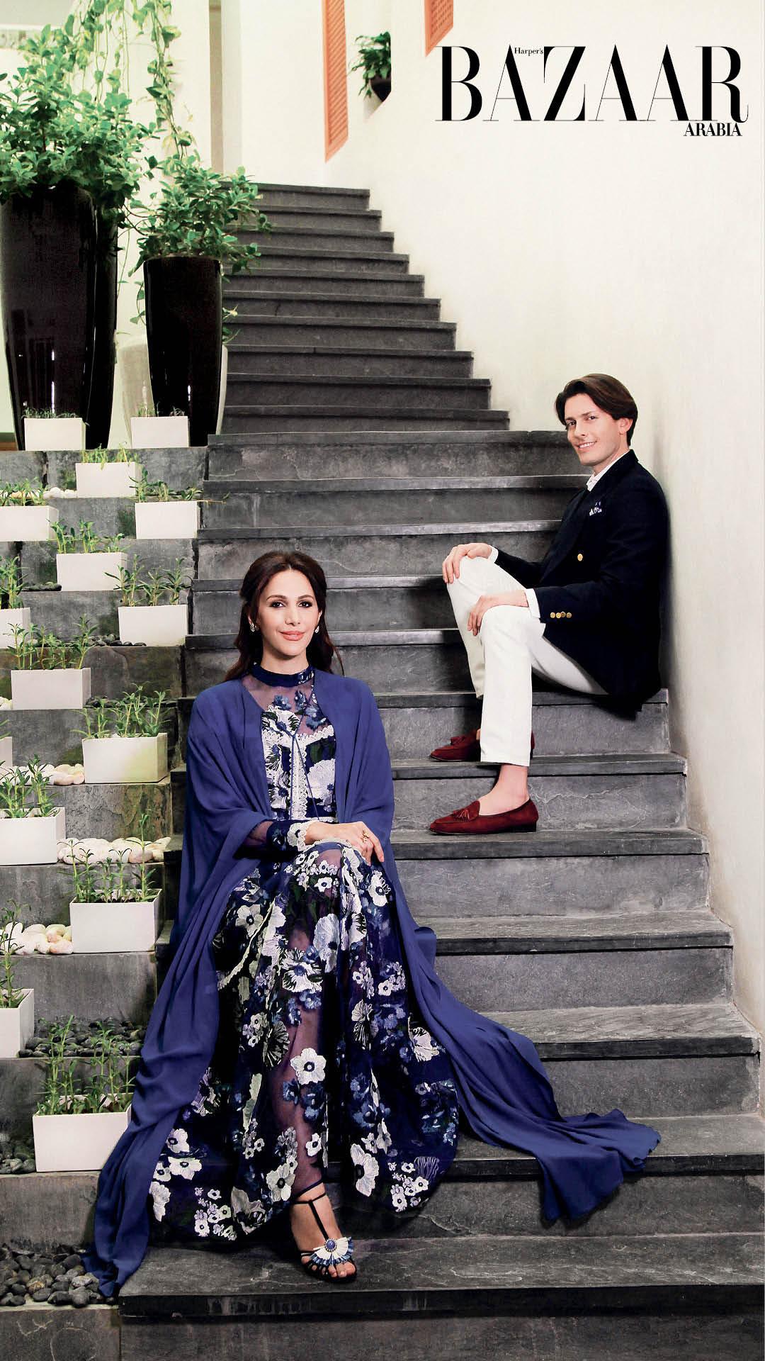 Sheikha Raya Al-Khalifa And Aquazurra's Edgardo Osorio discuss all things fashion in Qatar