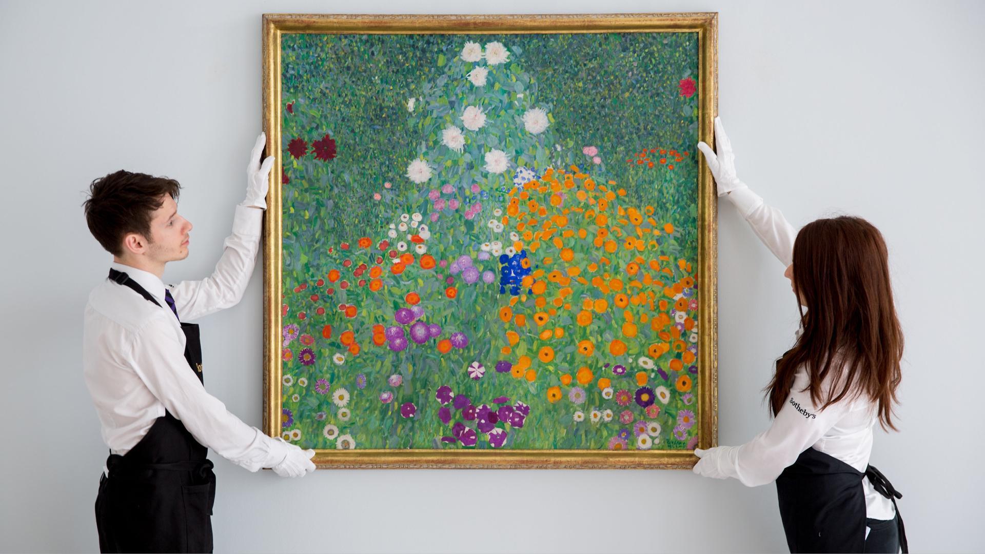 Gustav Klimt Bauerngarten Blumengarten
