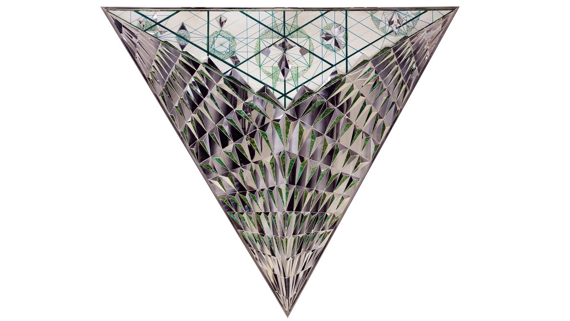 Monir Farmanfarmaian Triangle Of Hope