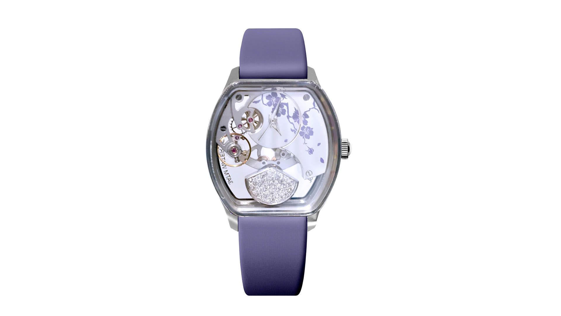 Claude Meylan Tortue Pearl Timepiece