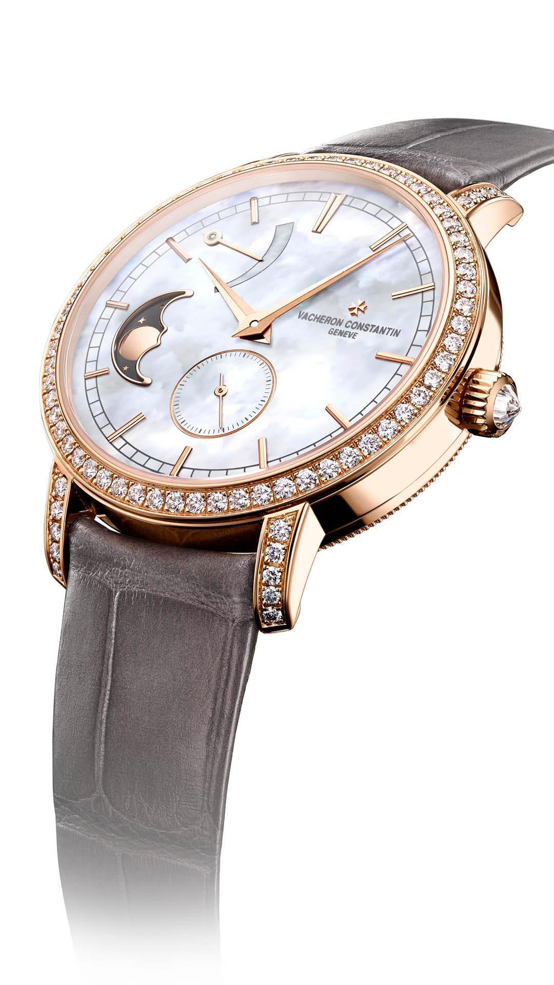 Vacheron Constantin Traditionelle Moon Phase Timepiece