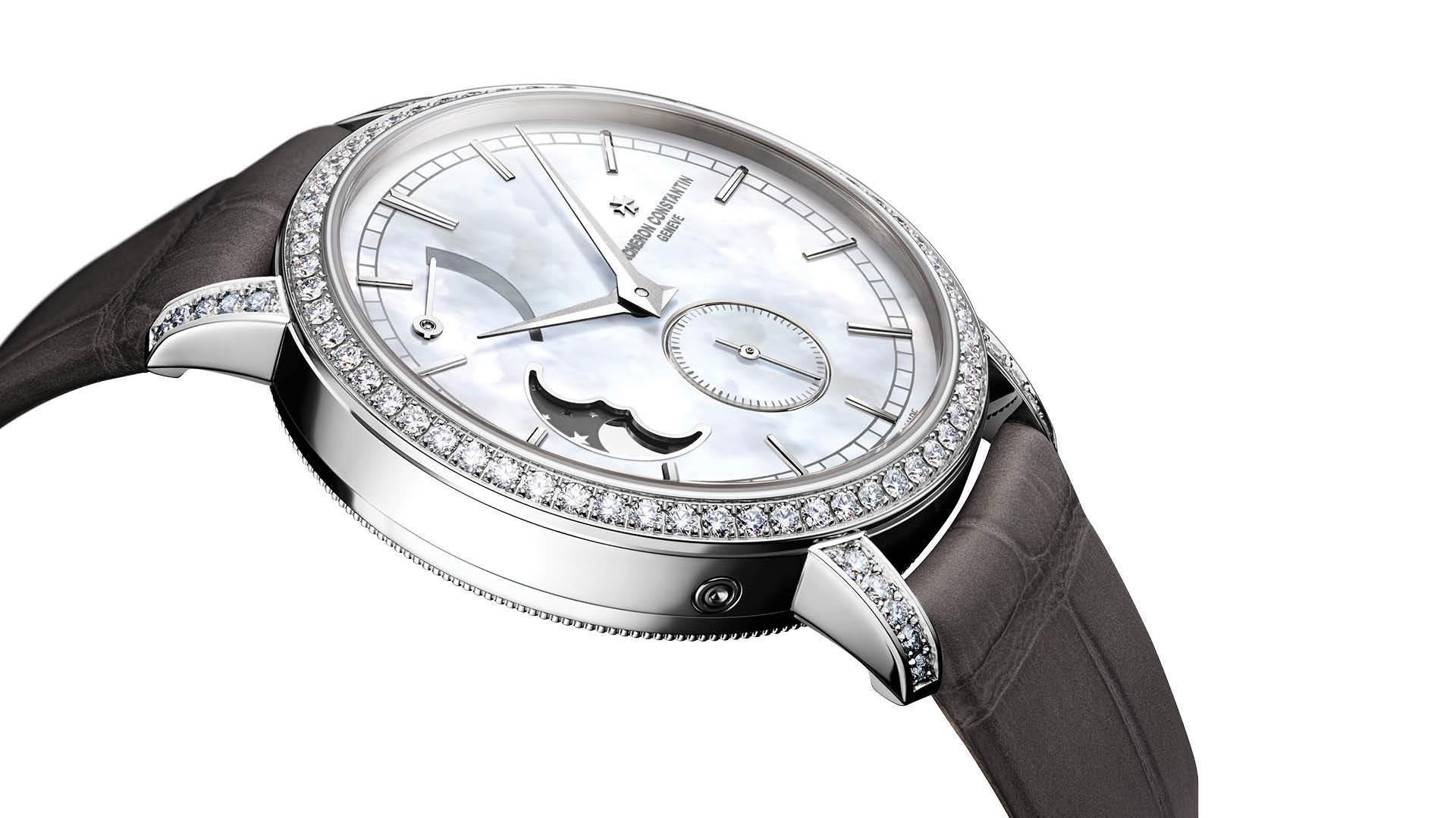 Vacheron Constantin Ladies Traditionelle Moon Phase Diamonds
