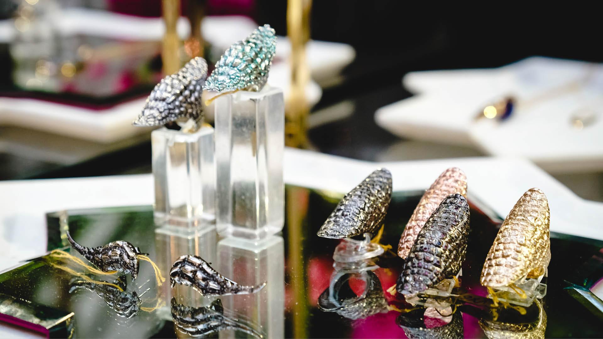 Venyx jewellery rings at Aubade