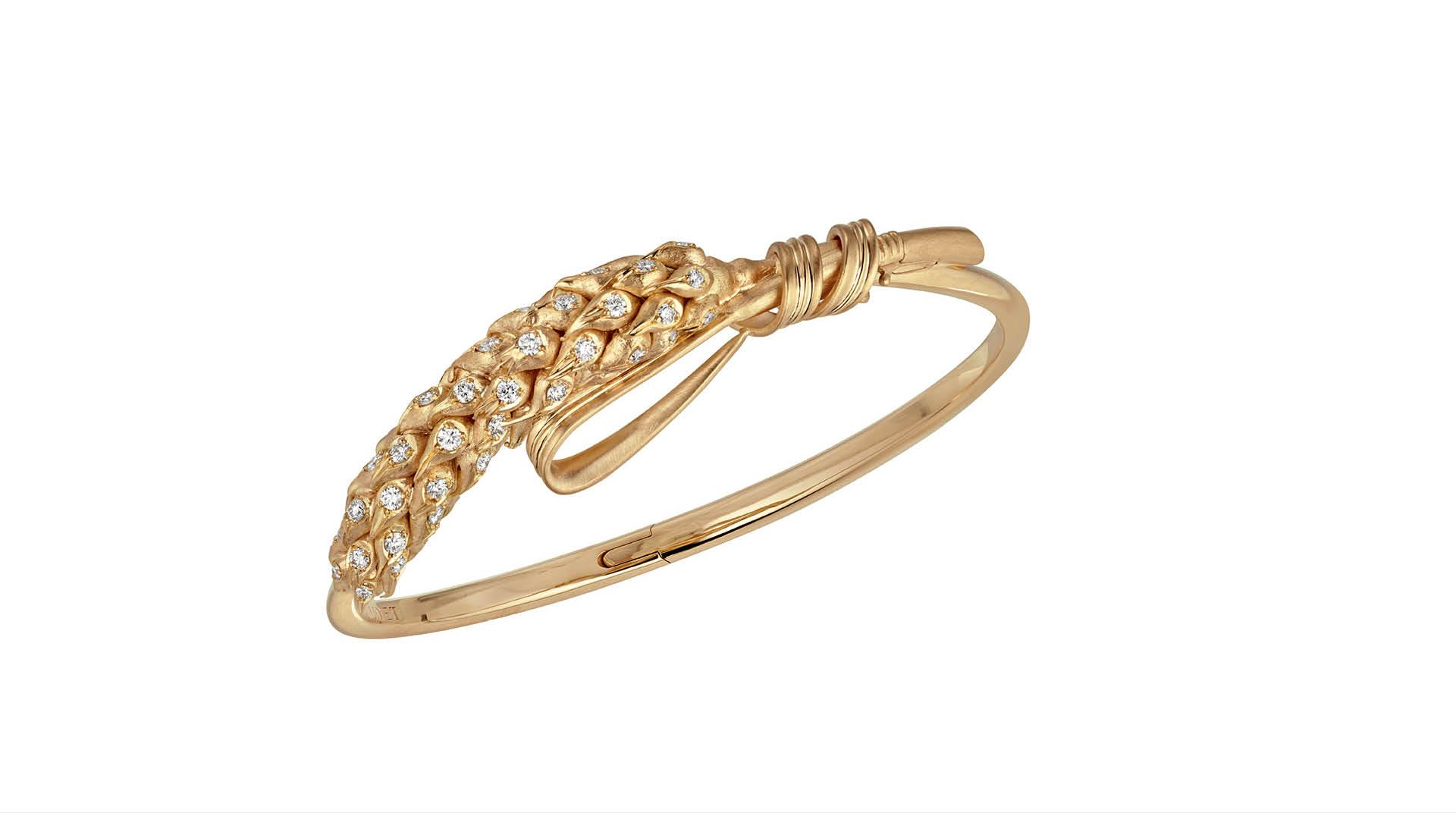 Chaumet Wheat Inspired Bracelet