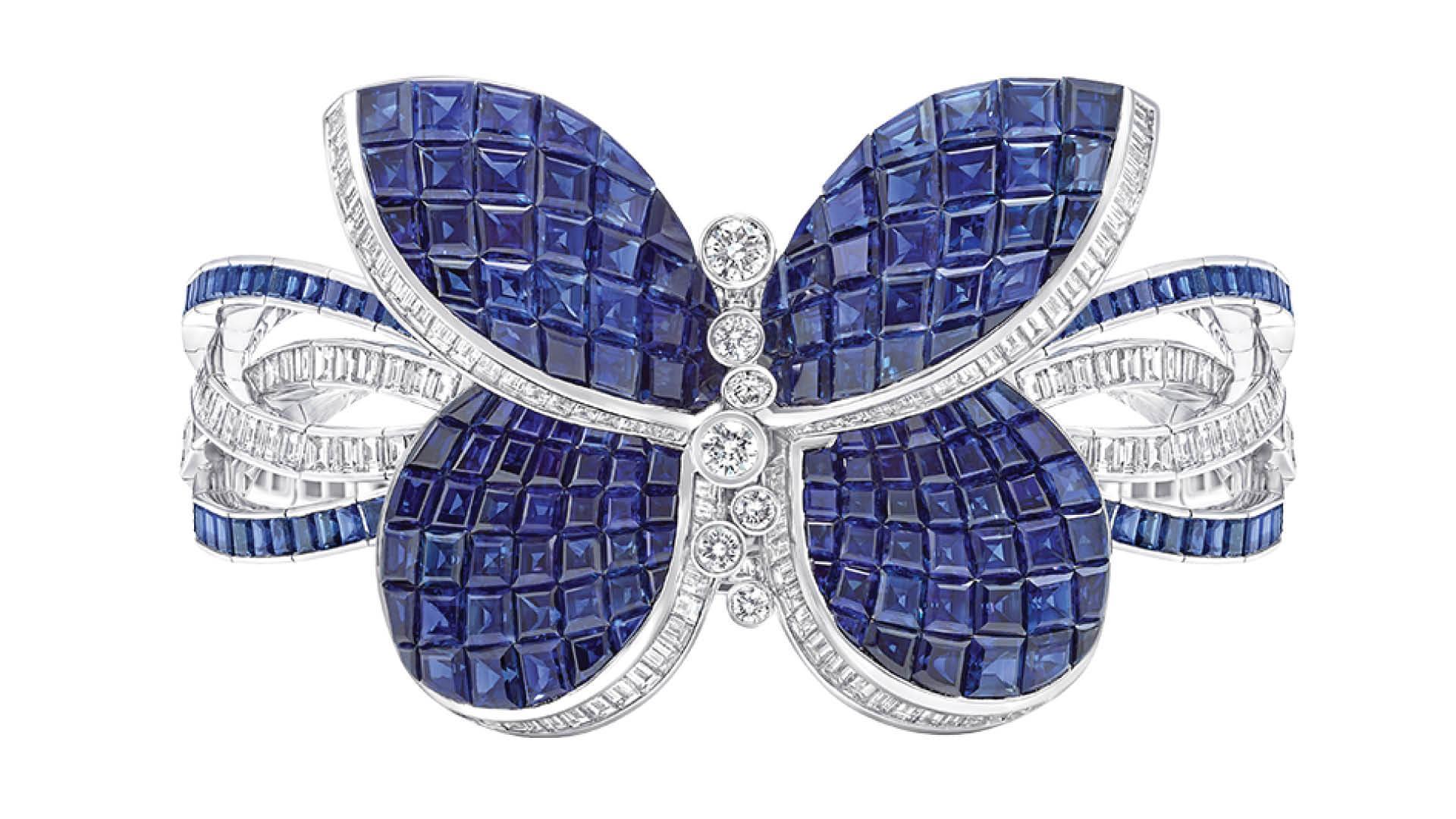 Graff Princess Butterfly Secret Watch Closed