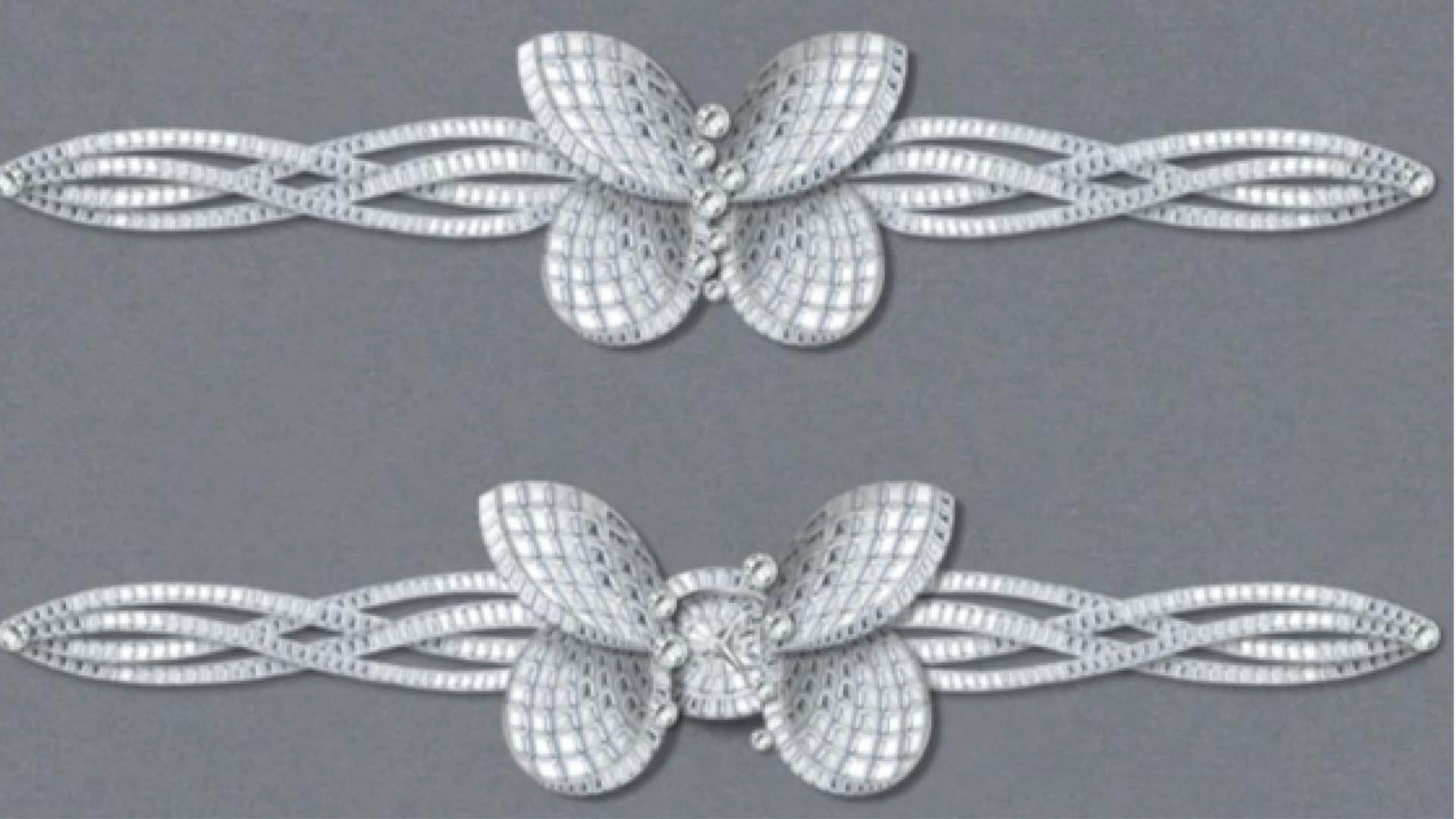 Graff Princess Butterfly Secret Watch Design