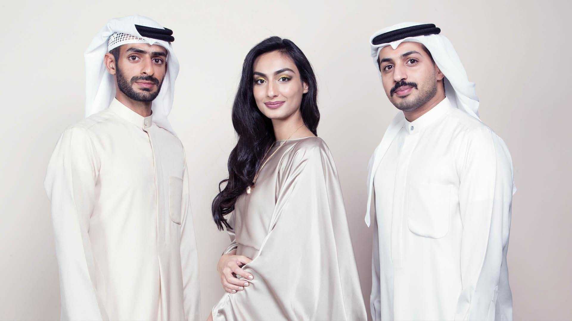 Abdulla BelJafla, Hamad bin Shaiban and Bushra bint Darwish