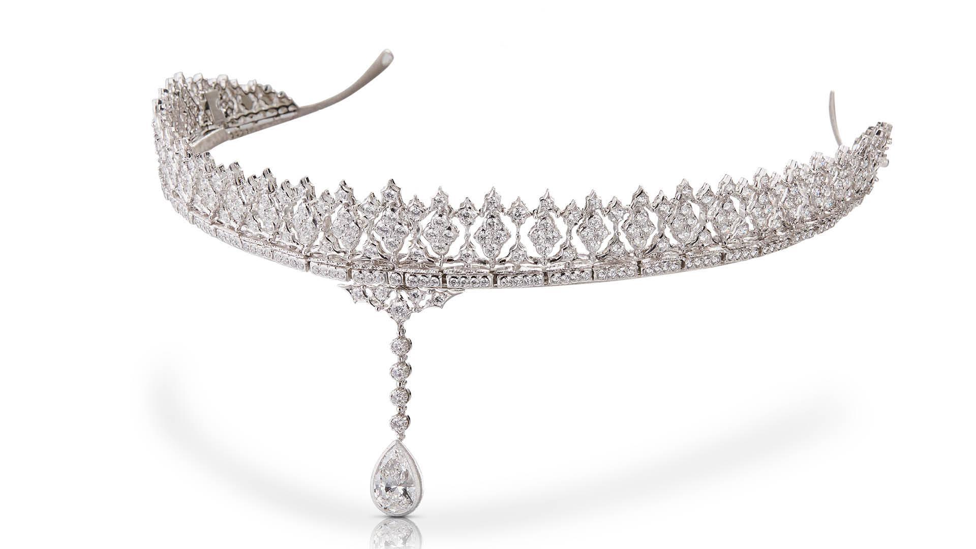 Buccellati Carlotta diamond tiara