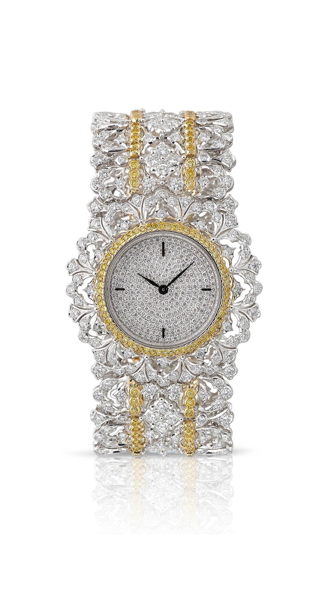 Buccellati Carlotta diamond watch