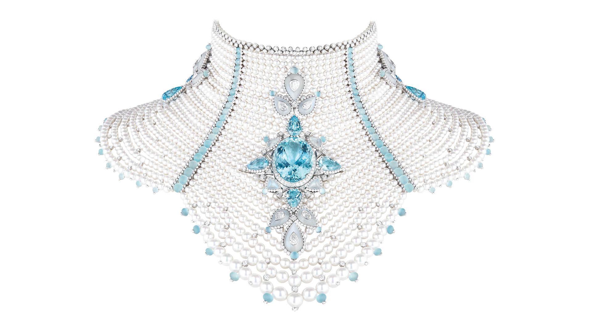 Boucheron Baikal Bodice necklace