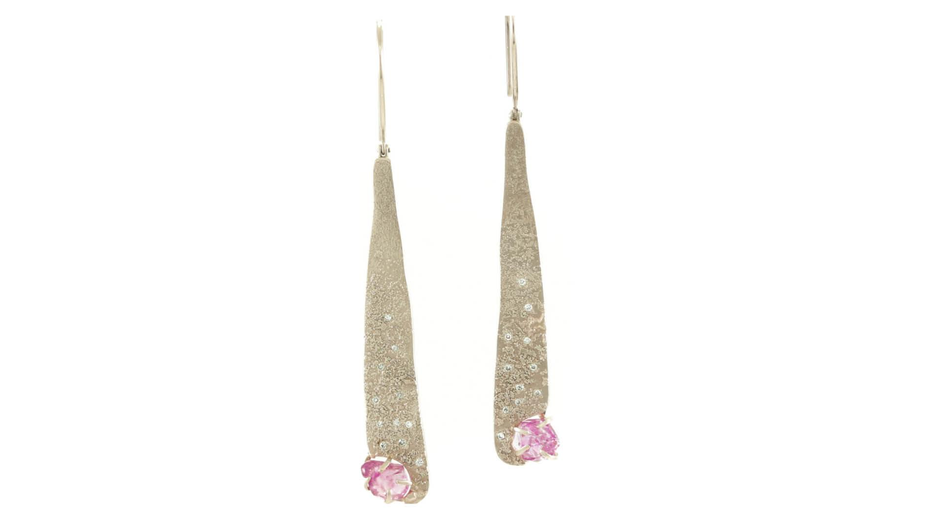 Champagne gold earrings