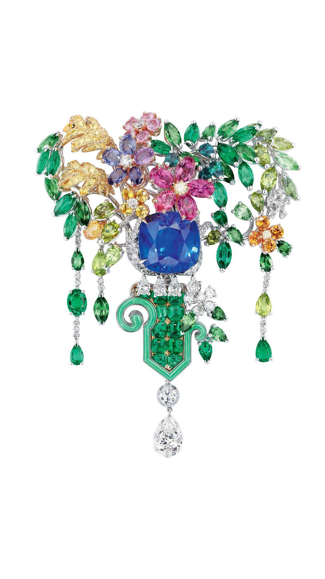 Dior Cote Jardin Brooch