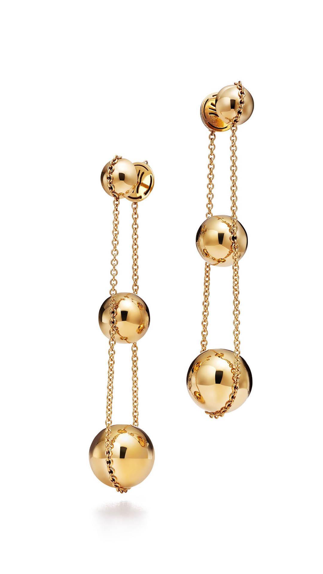 Tiffany Yellow Gold Hardwear Earrings