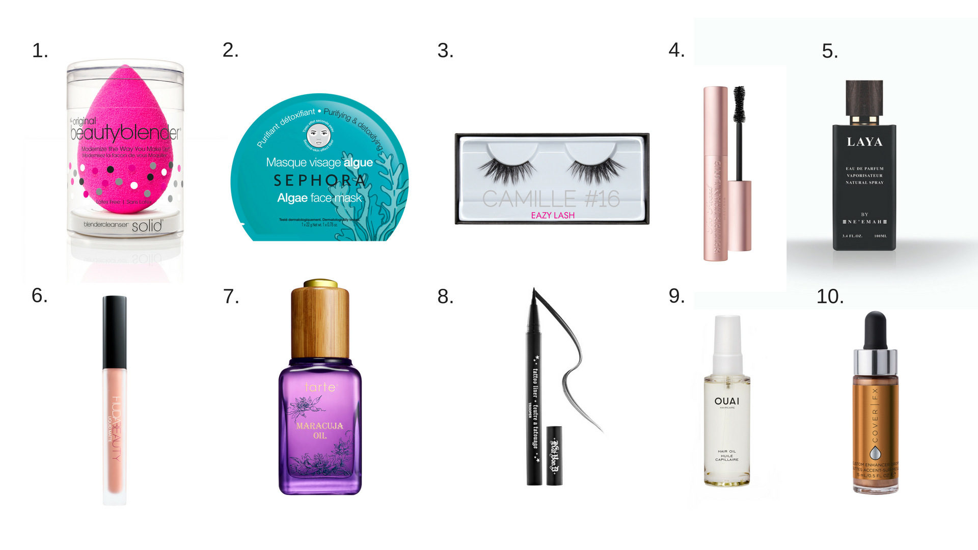Sephora's highest selling products