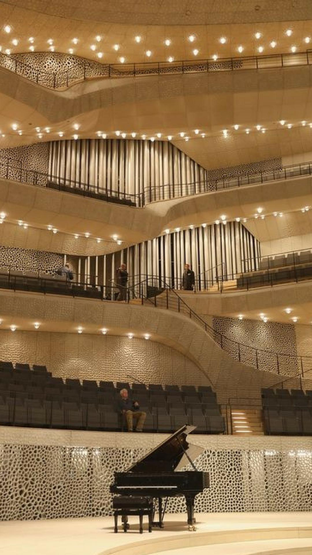 The Interior Of The Elphilharmonie Concert Hall