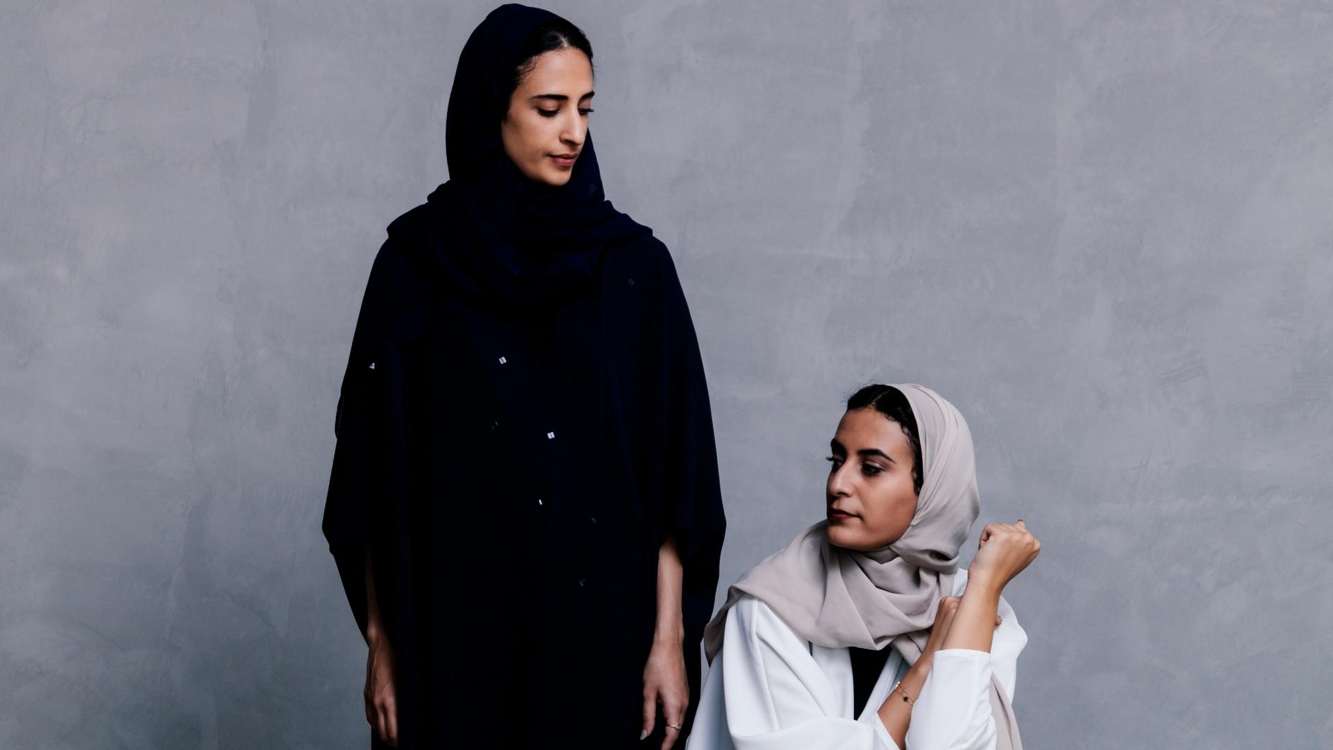 Reema Motib and Lamia AlEisa