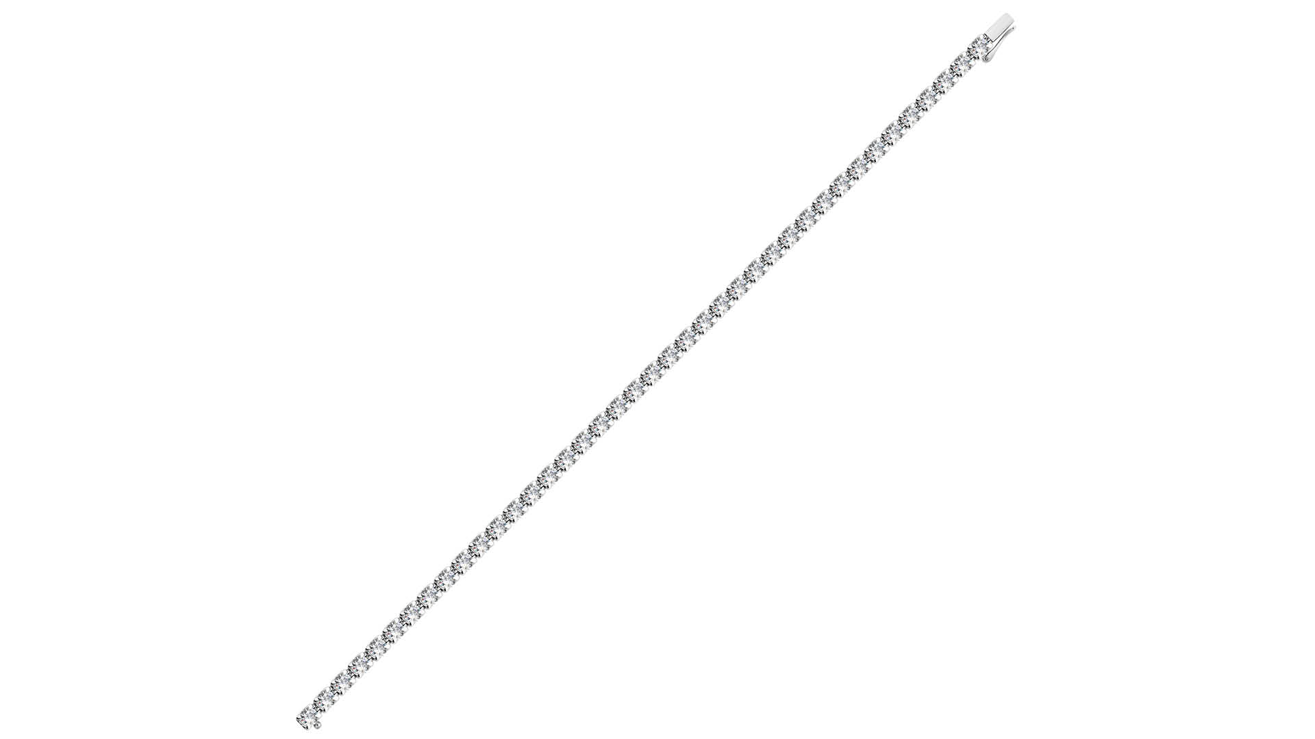 Damas-Tennis-bracelet-with-Forevermark-diamonds