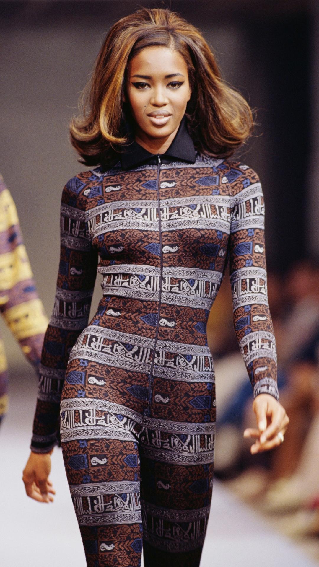 Naomi Campbell Alaïa