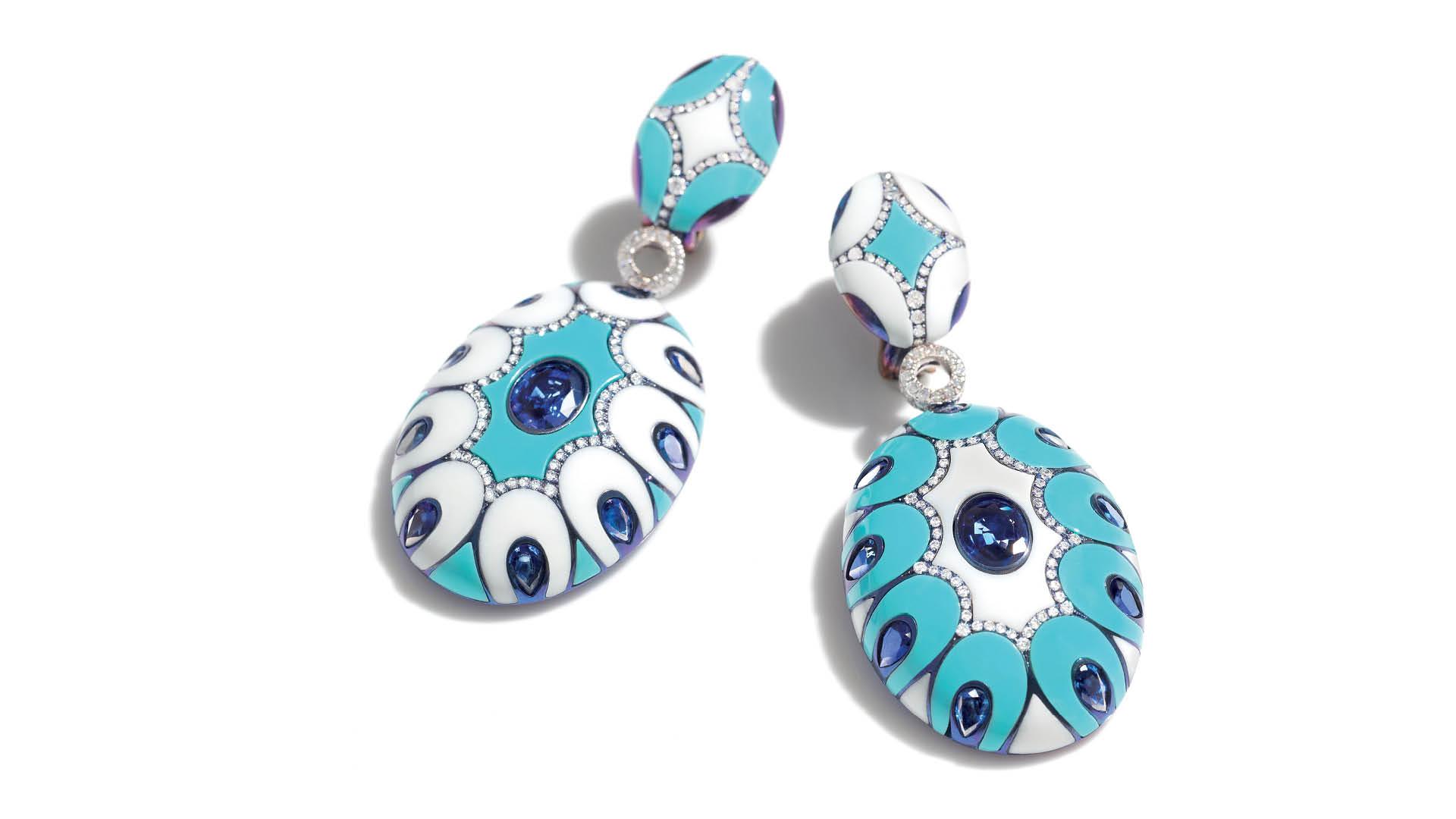 Chantecler-Maiolica-High-Jewellery-Earrings