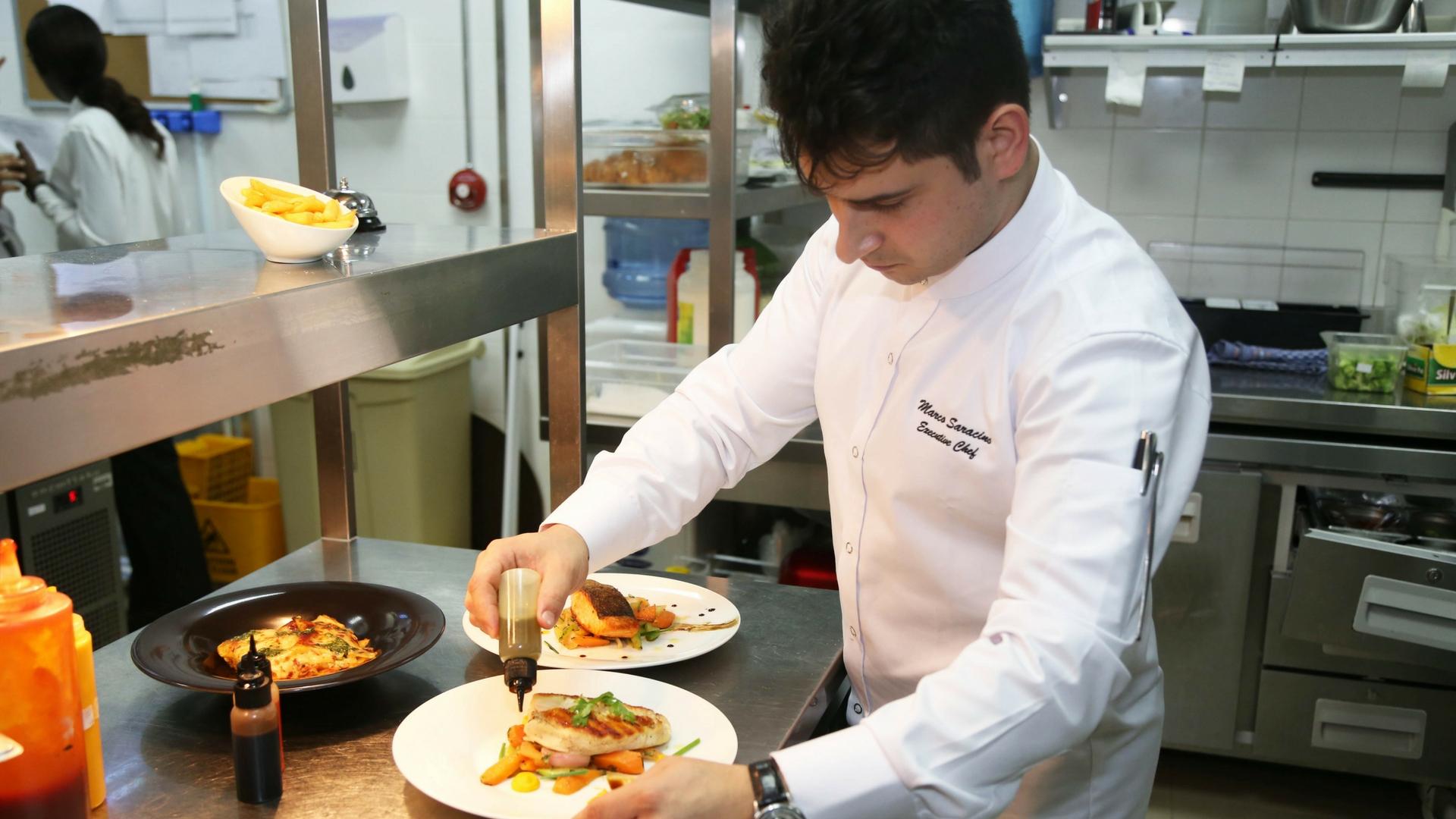 Chef Marco From Harper's Bazaar Cafe
