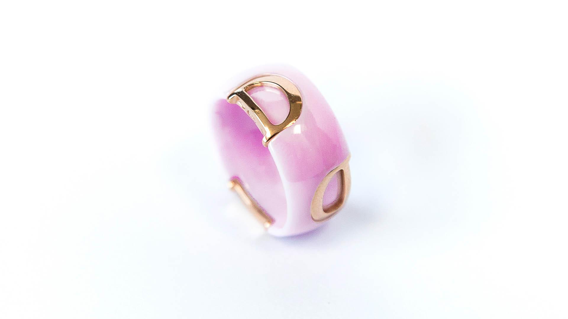 Damiani-Rosa-Confetto-Pink-Ceramic-Ring