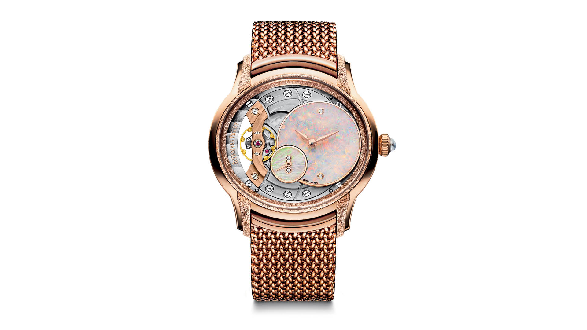 Audemars-Piguet-Millenary-Frosted-Gold