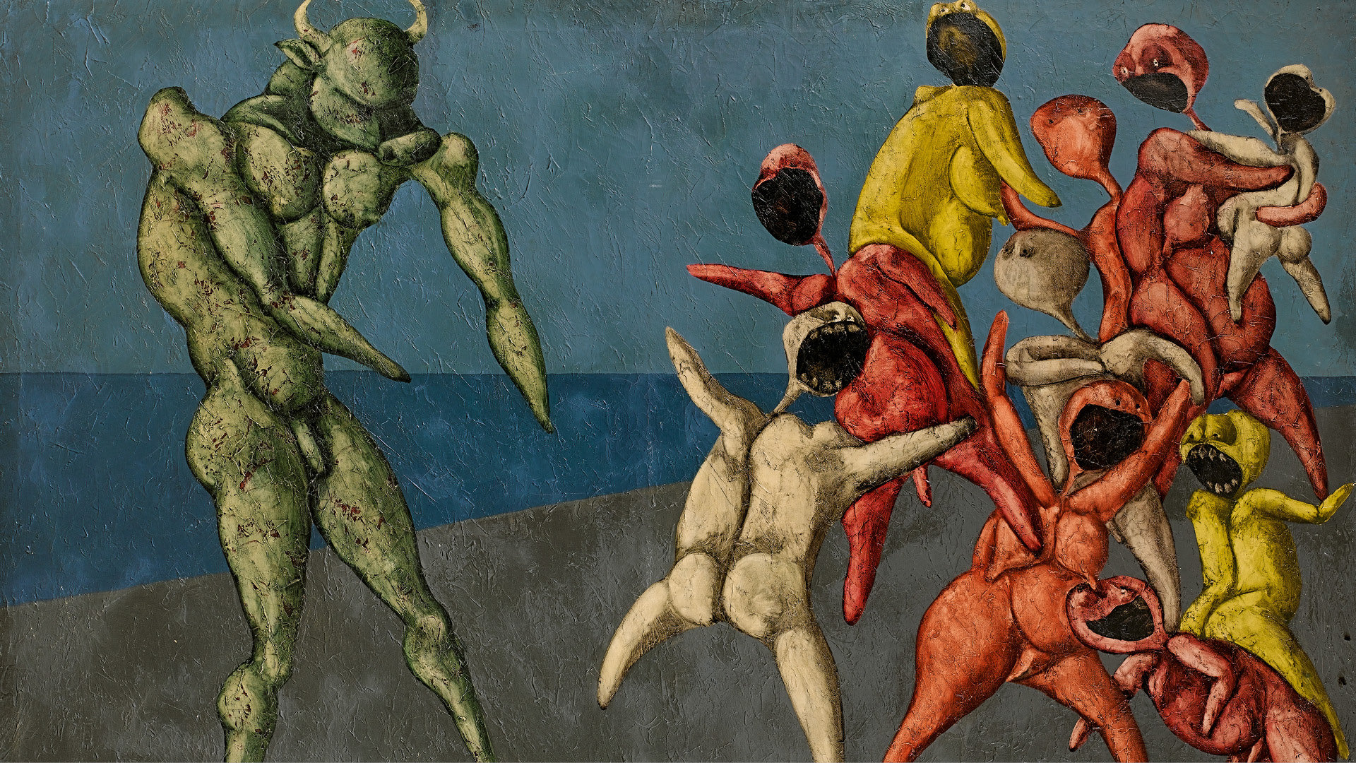 Bazaar Art gets an in-depth look at a rare work by Iranian Modernist Bahman Mohasses on sale at Sotheby's upcoming auction on 20th Century/Middle Eastern Art sale