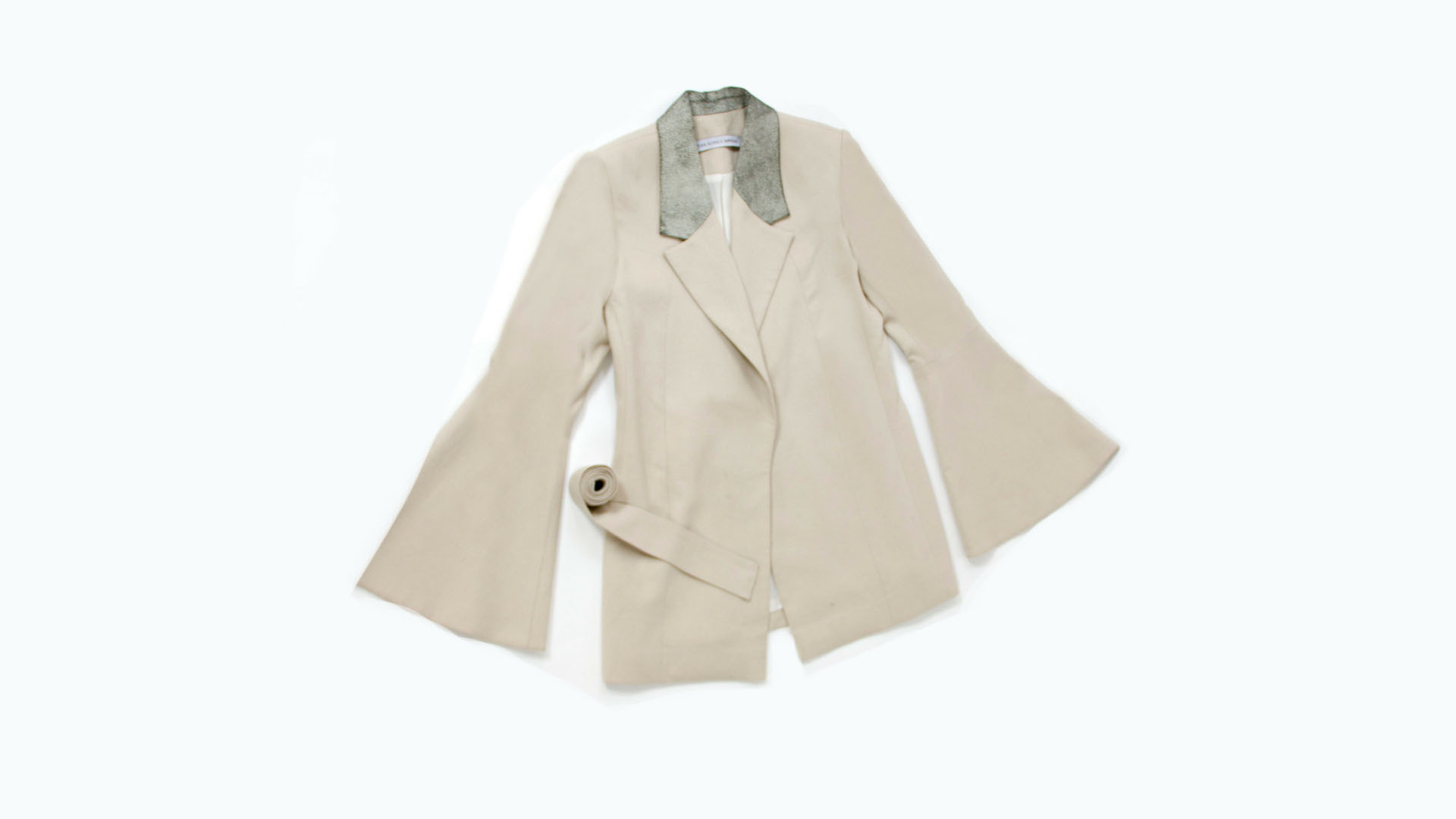 Coquina wrap blazer,  Dhs1,102, The King's Mother