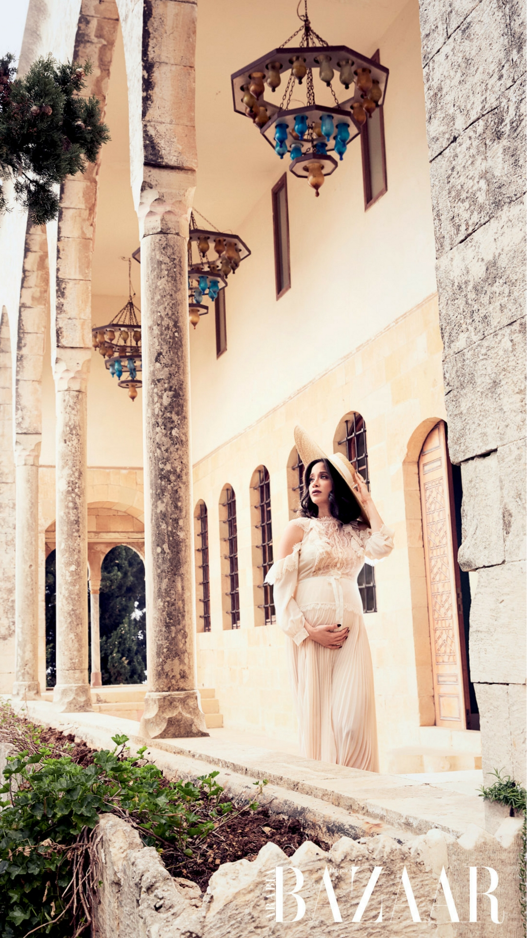 As she prepares to welcome her first baby this April, Bazaar  spends time with Lebanese influencer Lana El Sahely to talk pregnancy, motherhood and making the world a happier place for the next generation