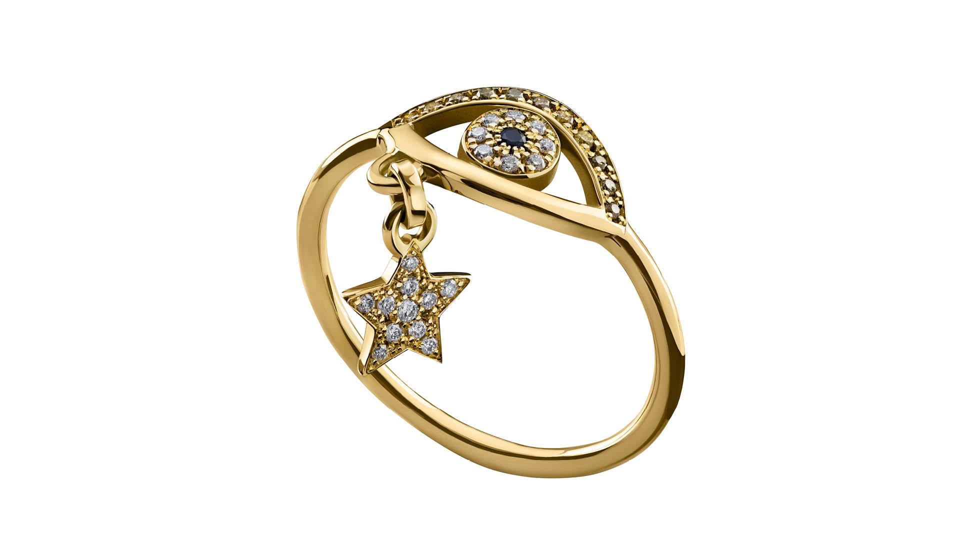 Azza-Fahmy-Gypsy-Gold-Eye-Ring