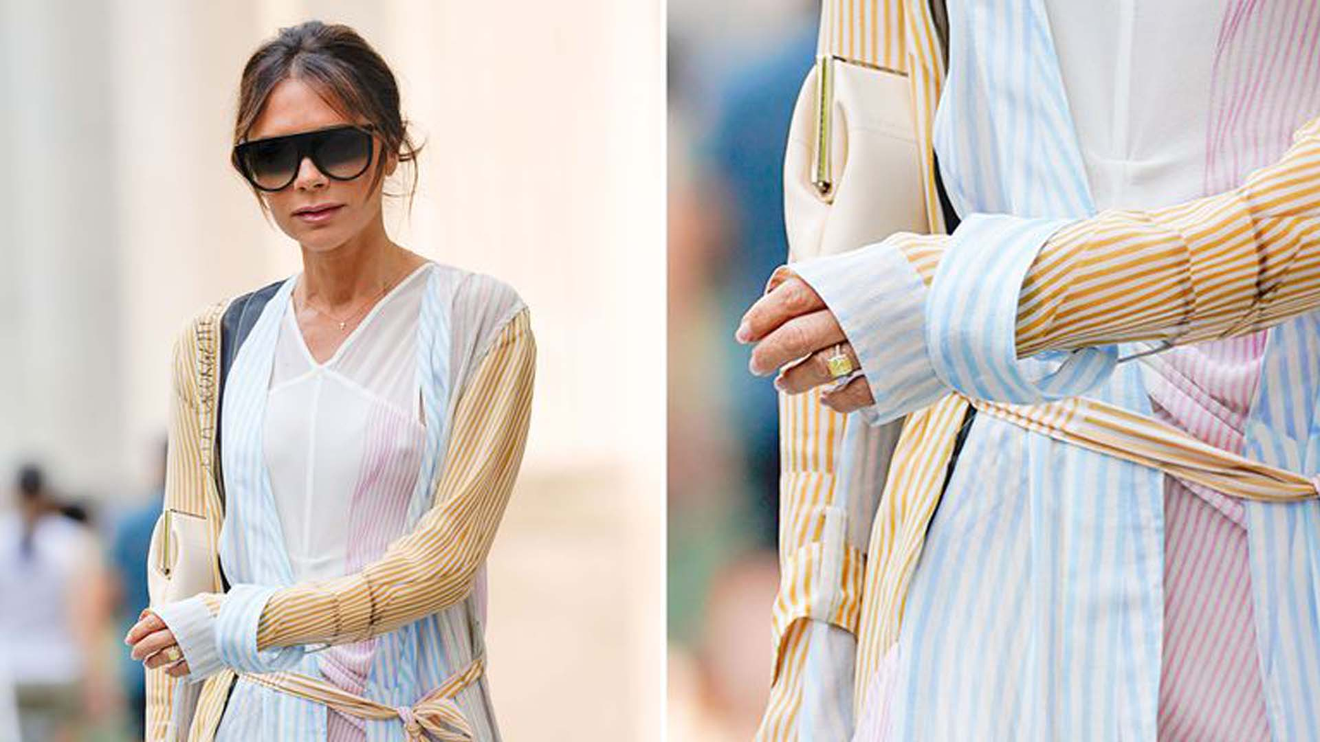 Victoria Beckham Spotted With New Engagement Ring