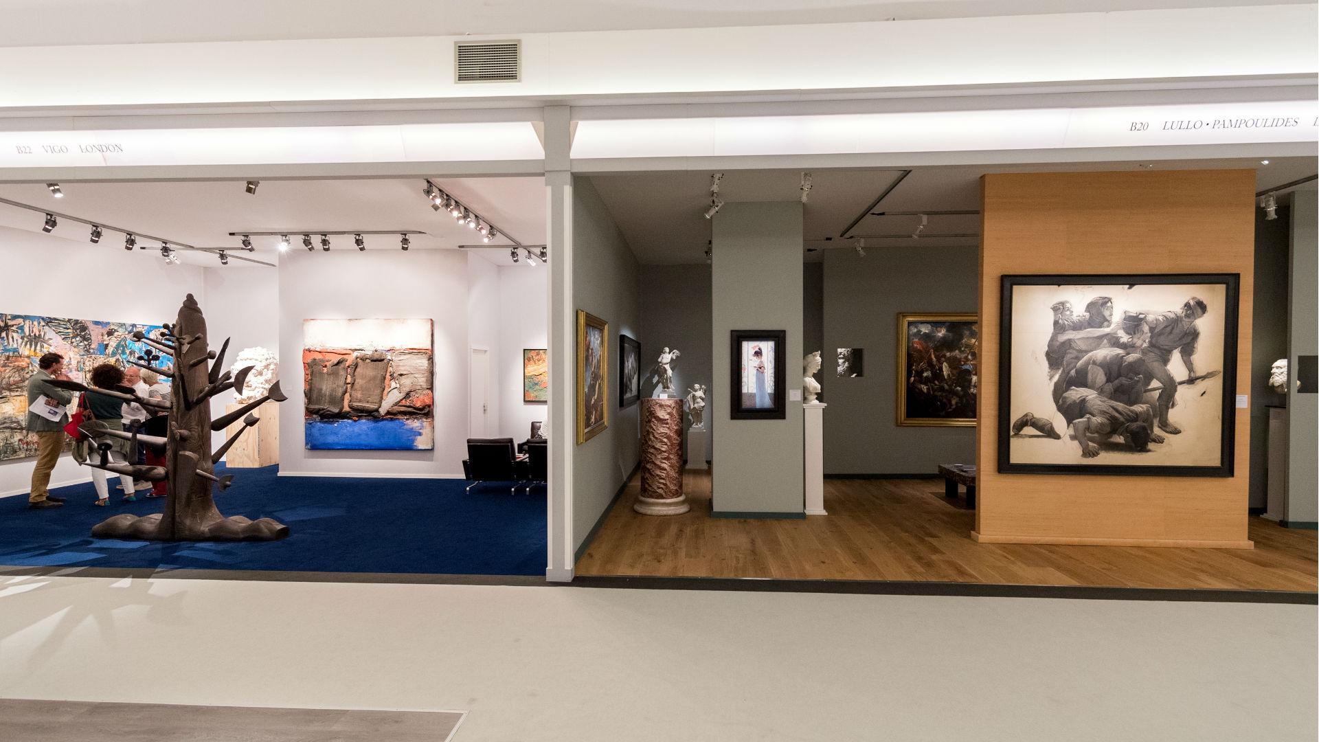Vigo Gallery and Lullo Pompoulides at Masterpiece London 2018