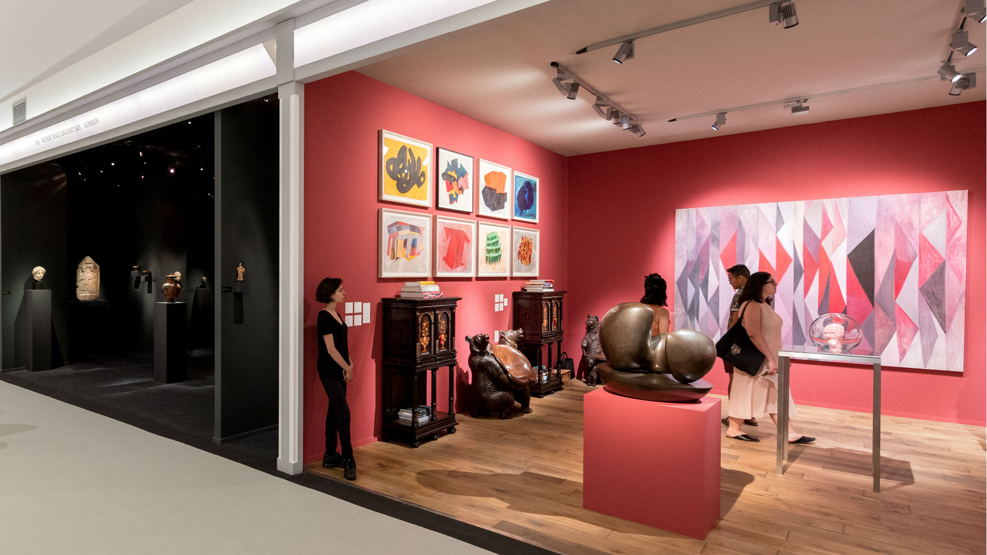 Rupert Wace Ancient Art and Hauser & Wirth at Masterpiece London 2018