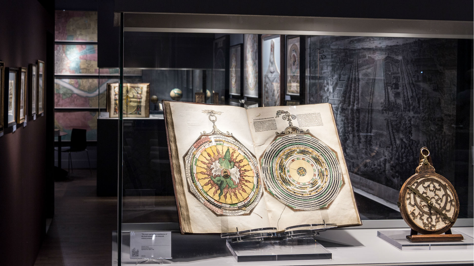Installation view of Les Enluminures and Daniel Crouch at Masterpiece London 2018